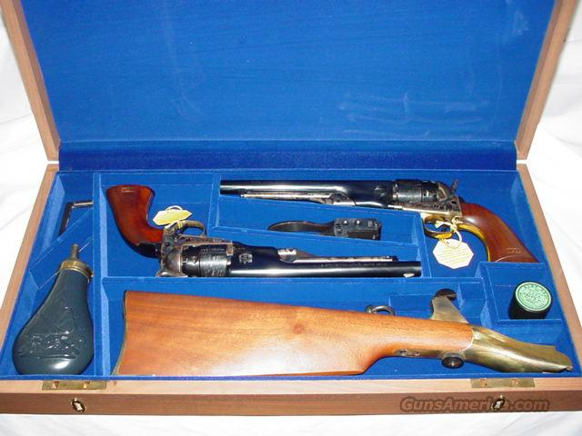 Colt US Cavalry Commerative Set  Guns > Pistols > Colt Percussion Revolver - Modern