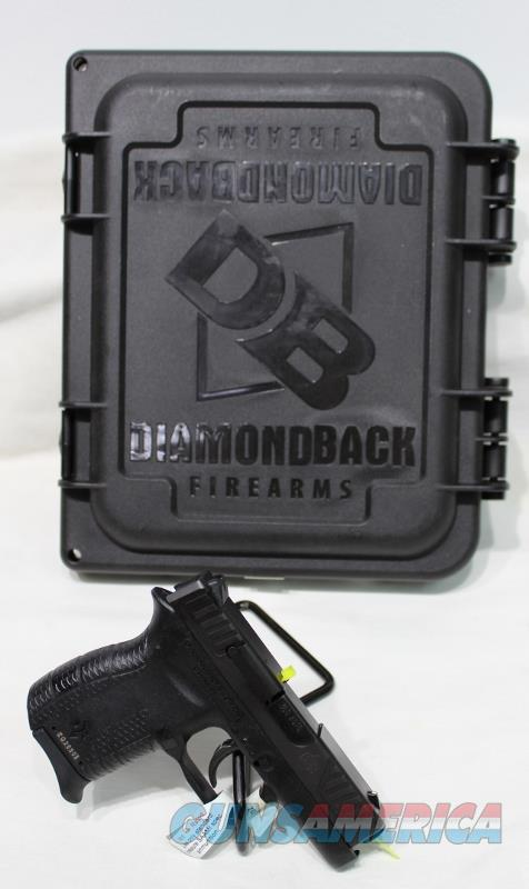 Diamondback DB380 380acp blk NEW 380  Guns > Pistols > Diamondback Pistols