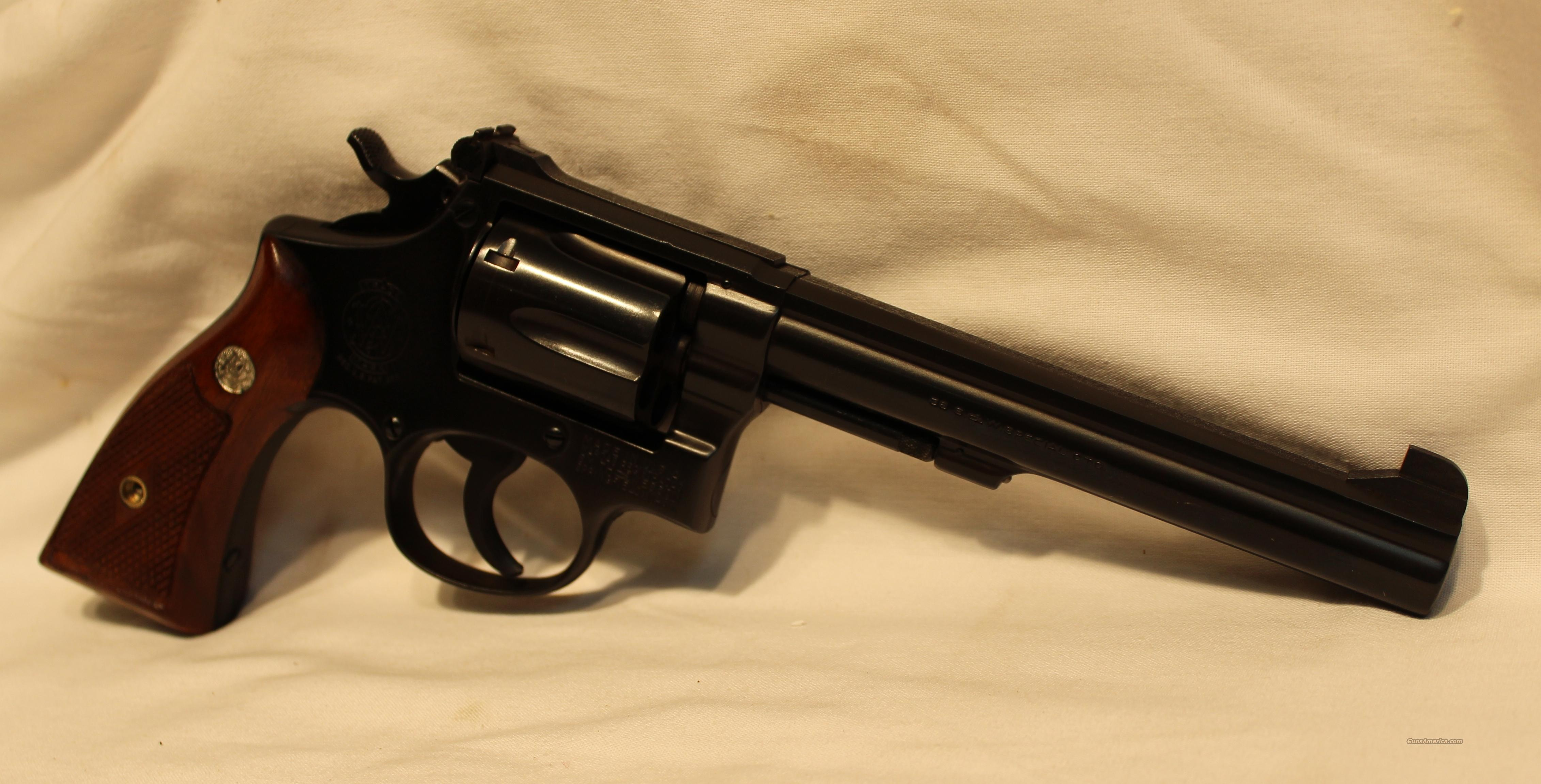 S&W K38 US pre mod 14 Target Masterpiece 38spl  Guns > Pistols > Smith & Wesson Revolvers > Full Frame Revolver