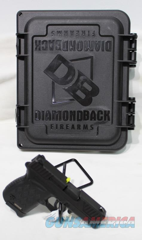 Diamondaback DB9 9mm pistol blk new  Guns > Pistols > Diamondback Pistols