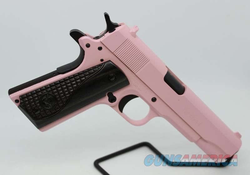 Iver Johnson 1911A1 9mm pink NEw  Guns > Pistols > 1911 Pistol Copies (non-Colt)