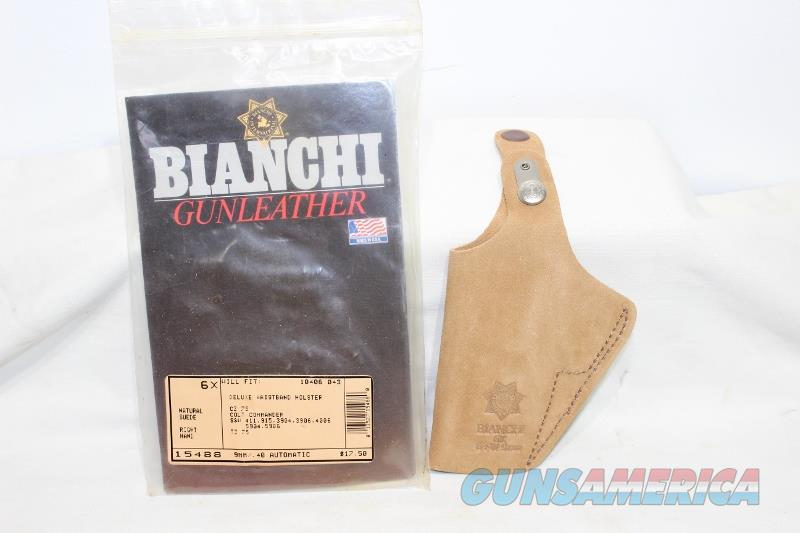 Bianchi 6x suede holster RH small frame S&W Colt  Non-Guns > Holsters and Gunleather > Concealed Carry