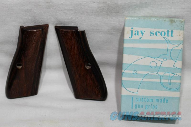 Jay Scott Browning wood 9mm grips new hi power  Non-Guns > Gunstocks, Grips & Wood
