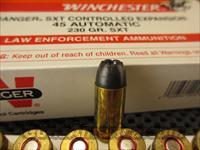 Winchester 45 ACP BLACK TALON SXT   Non-Guns > Ammunition
