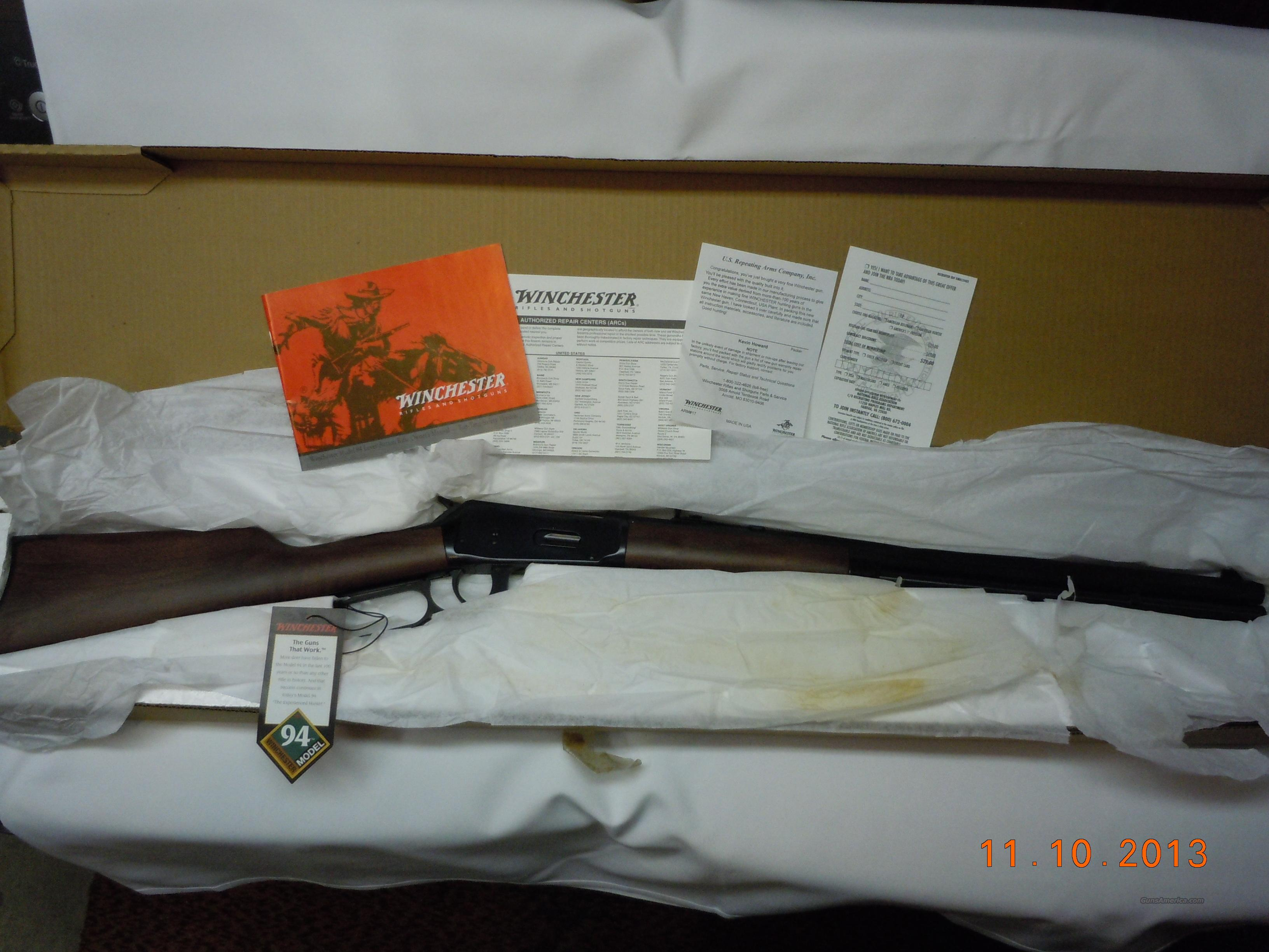 Winchester model 94 - Trails End  Guns > Rifles > Winchester Rifles - Modern Lever > Model 94 > Post-64