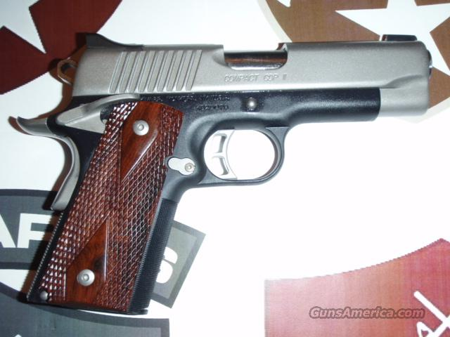 Kimber Compact CDP II .45ACP, NS, Two Tone, 1 - 7 Rnd Mag, Hrd Case, & Manuals  Guns > Pistols > Kimber of America Pistols