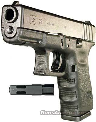 Memorial Day Special - Glock 23C (Compensated) .40 S&W w/2ea 13Rnd Mags  Guns > Pistols > Glock Pistols > 23
