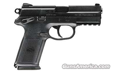 FNH FNX-.40 S&W w/Trijicon Night Sights in Black -  w/3 ea. 14 Rnd Mags   Guns > Pistols > FNH - Fabrique Nationale (FN) Pistols > FNP