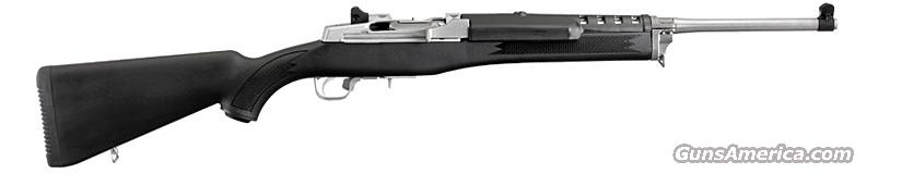 "Ruger K-Mini 14/5P Ranch Rifle (model 5805) .223/5.56 NATO, 18.50"" SS Brl, Syn Stock, 2 - 5 Rnd Mags, 1"" Rings & Rail Mnt - New  Guns > Rifles > Ruger Rifles > Mini-14 Type"