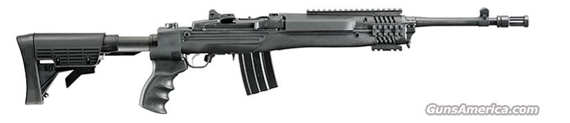 "Ruger Mini 14 Tactical Rifle (model 5846) .223/5.56 NATO, 16.12"" Brl w/FH, Tel & Fldng Stock, Rails, 20 Rnd Mag, 1"" Rings, New in Box  Guns > Rifles > Ruger Rifles > Mini-14 Type"