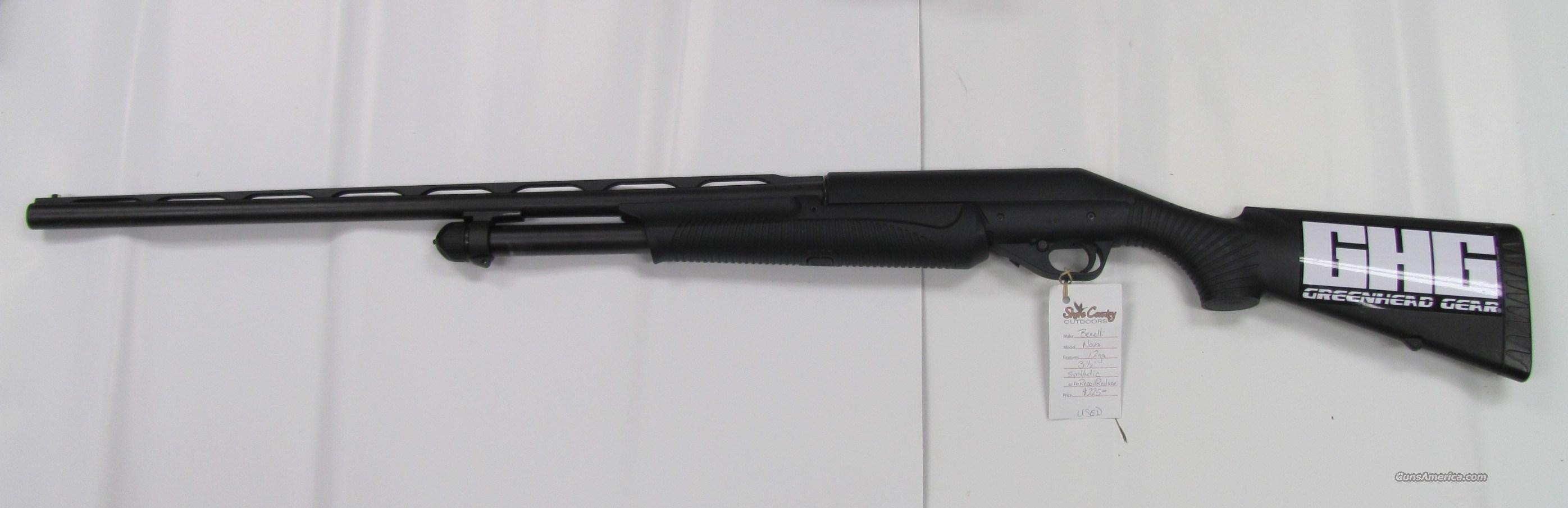 BENELLI NOVA PUMP 12GA.   Guns > Shotguns > Benelli Shotguns > Sporting