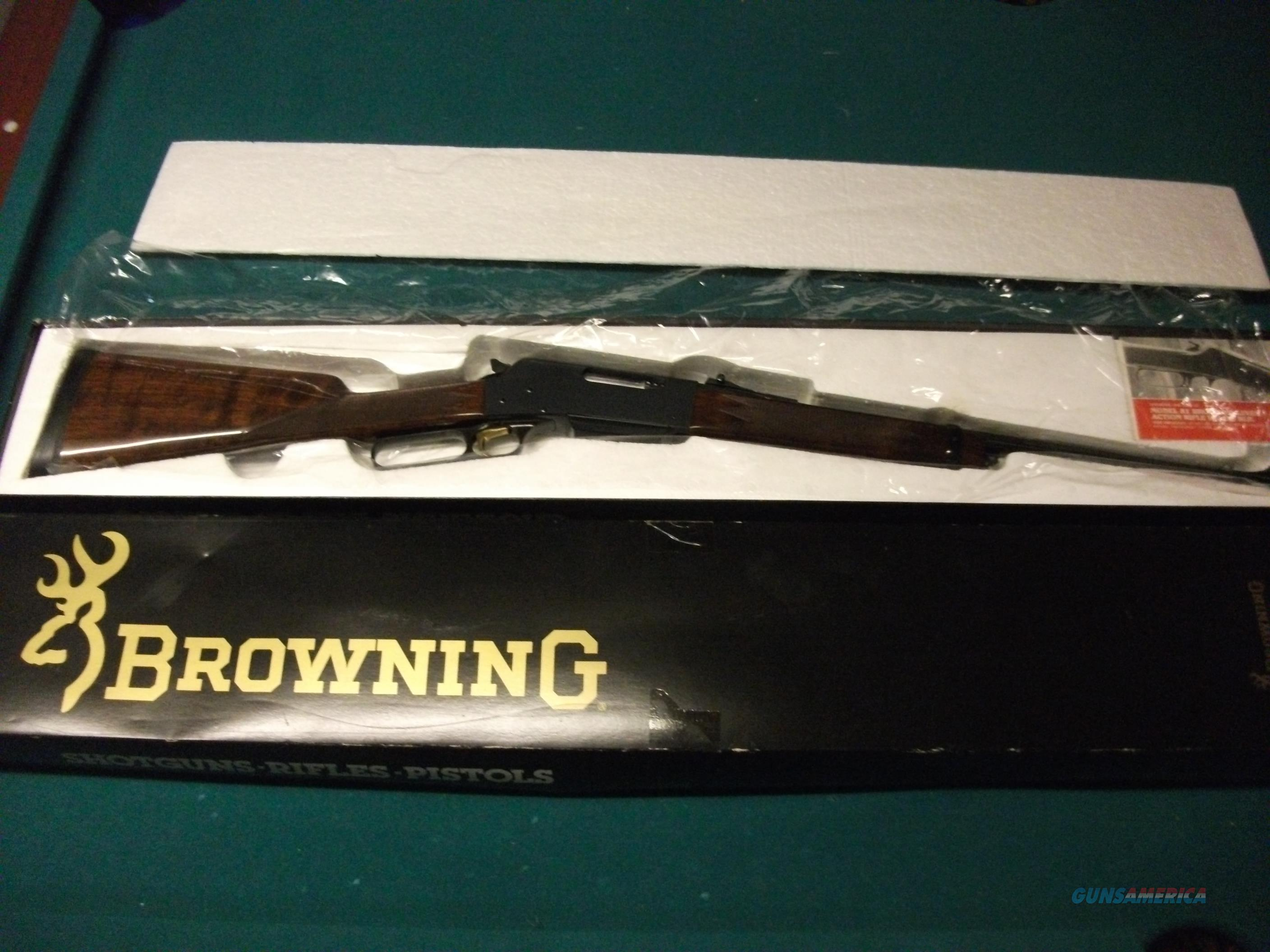Browning BLR 81 .358 Win. As new with box  Guns > Rifles > Browning Rifles > Lever Action