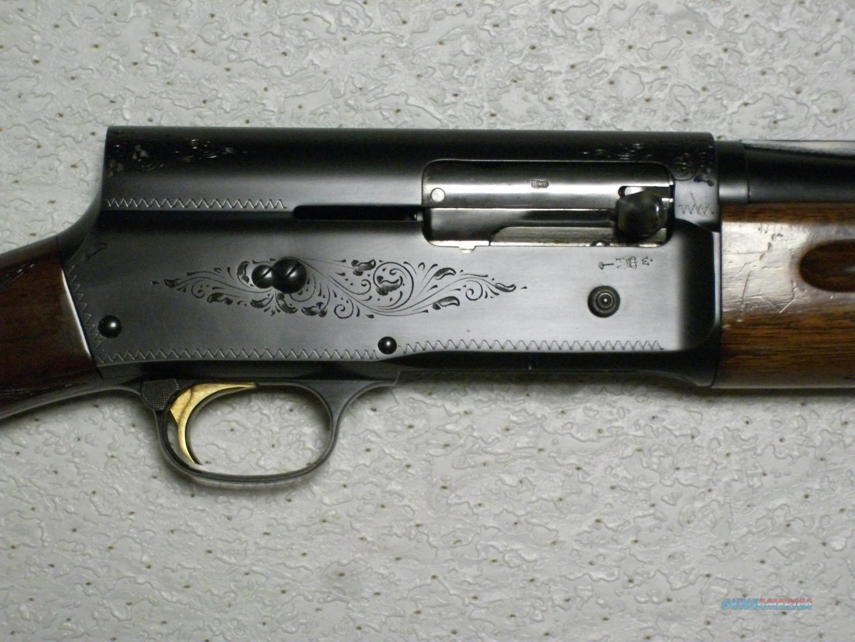 Belgian A-5 Round knob 20 gauge  26'' vent rib  Guns > Shotguns > Browning Shotguns > Autoloaders > Hunting