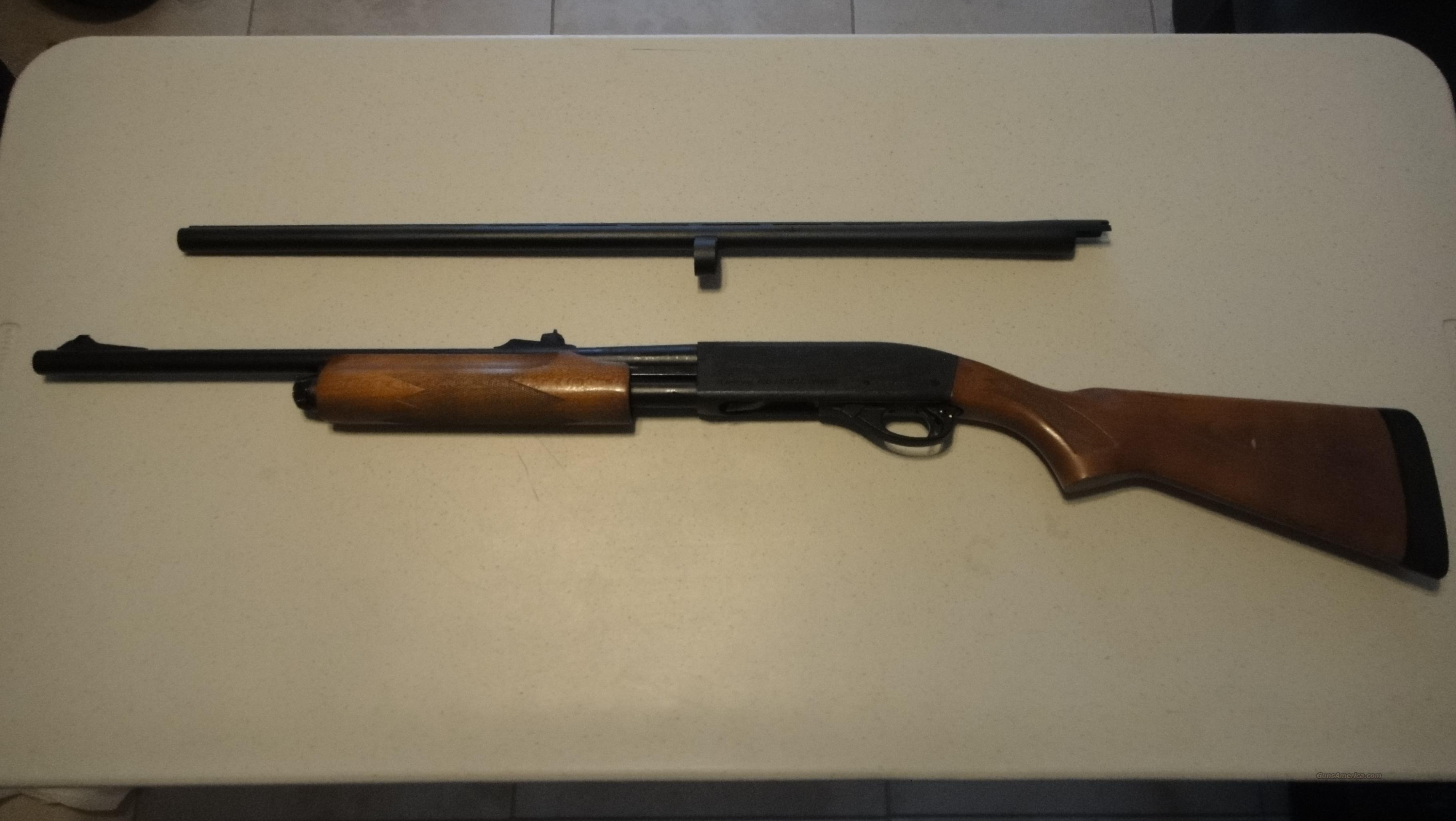 Remington 870 Express 20 Gauge with 2 barrels!  Guns > Shotguns > Remington Shotguns  > Pump > Hunting