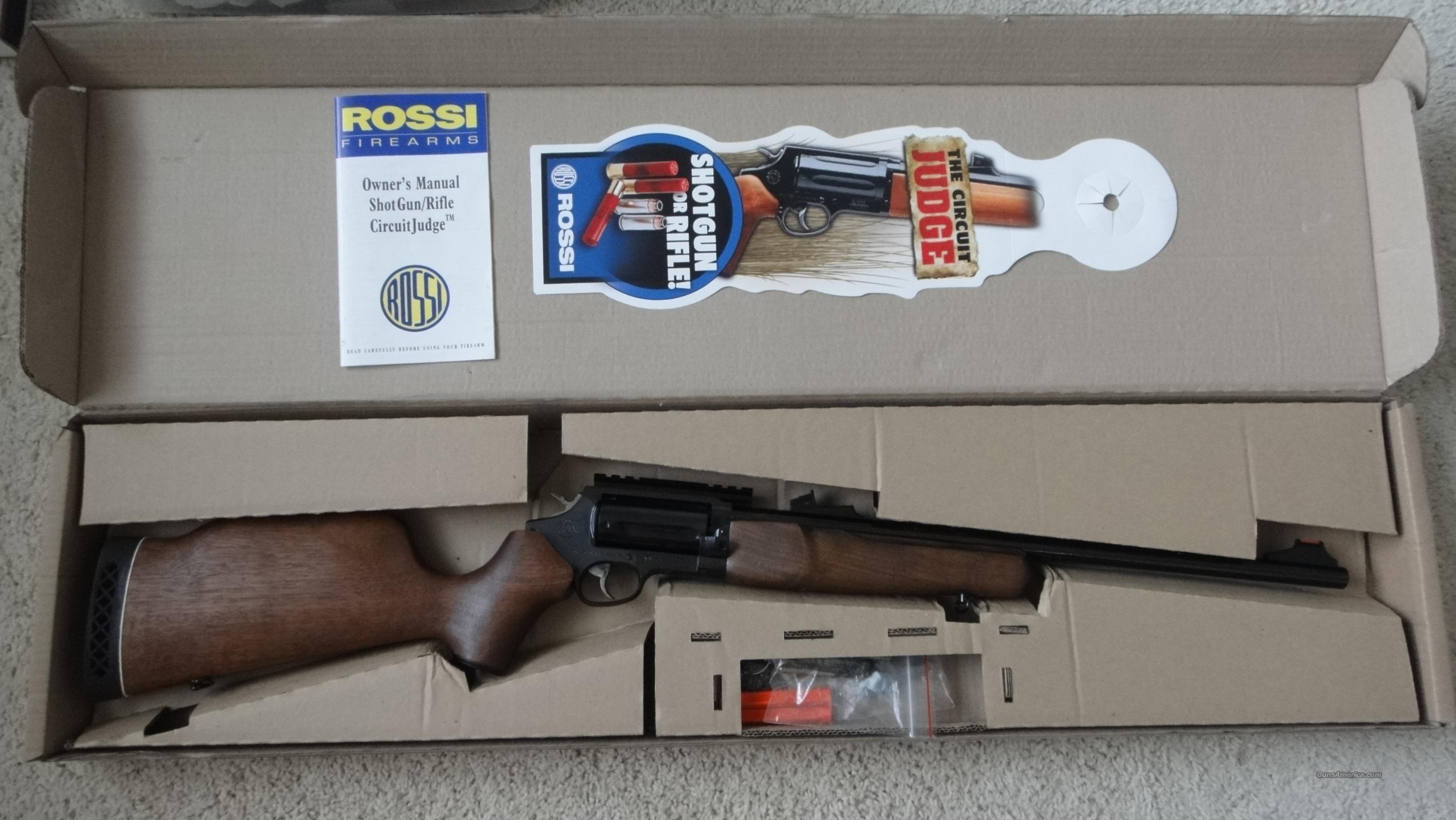 Rossi Circuit Judge (Like New)- Cheap!  Guns > Rifles > Rossi Rifles > Cowboy