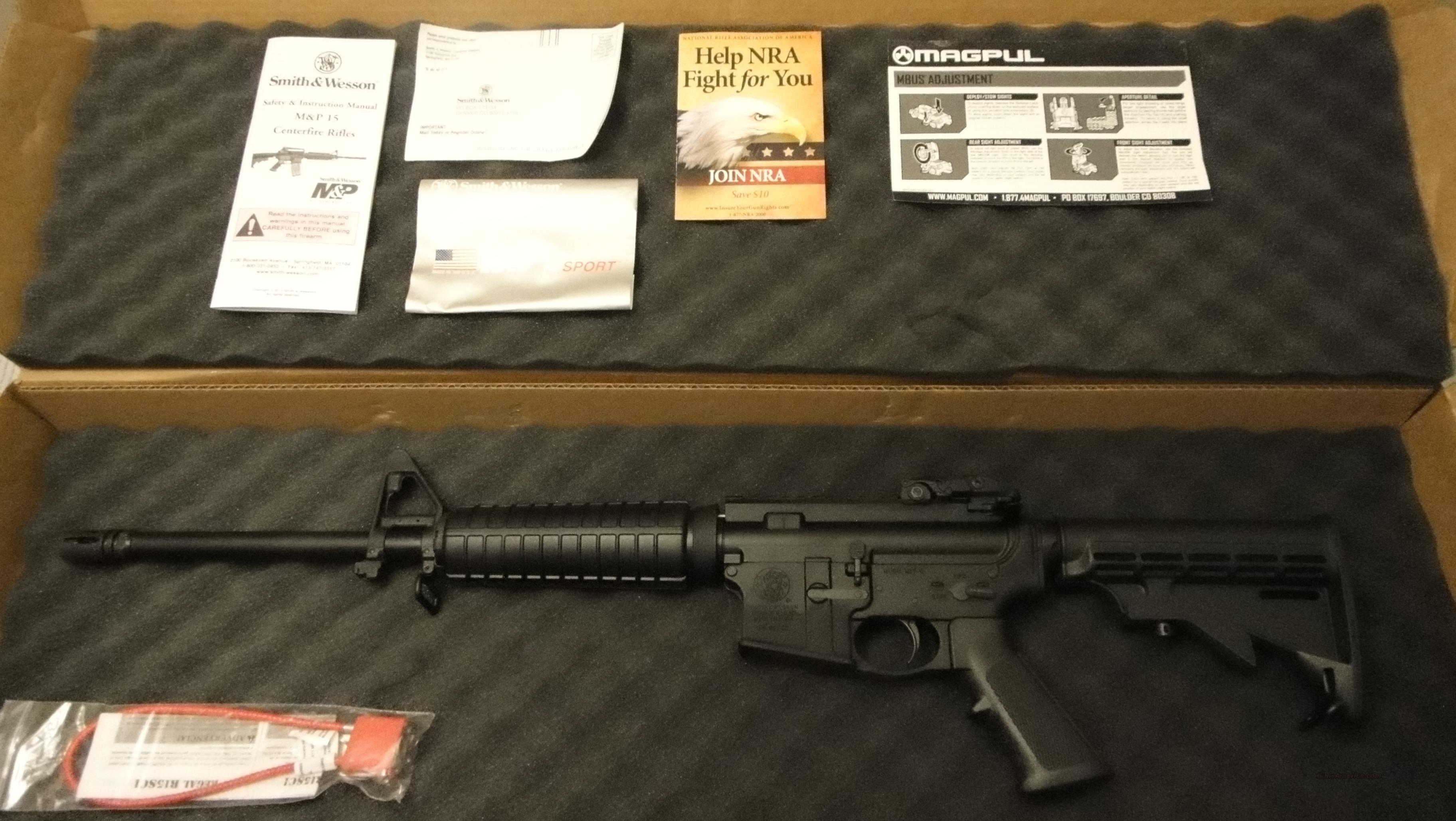 Smith and Wesson M&P- 15 AR-15 Assault Rifle-Get it while you can!   Guns > Rifles > Smith & Wesson Rifles > M&P