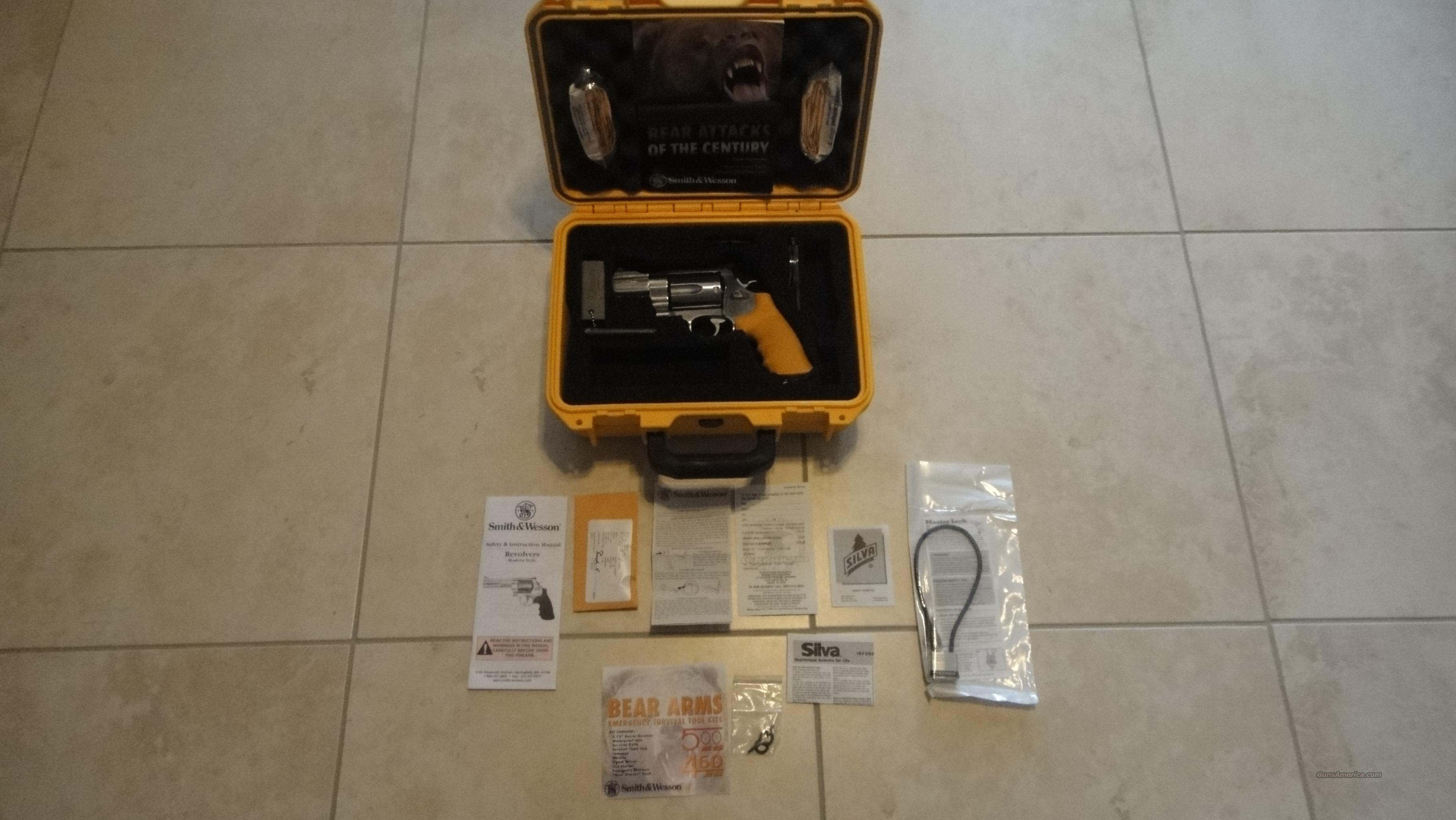 S&W .460 ES Bear Kit- Rare!   Guns > Pistols > Smith & Wesson Revolvers > Full Frame Revolver