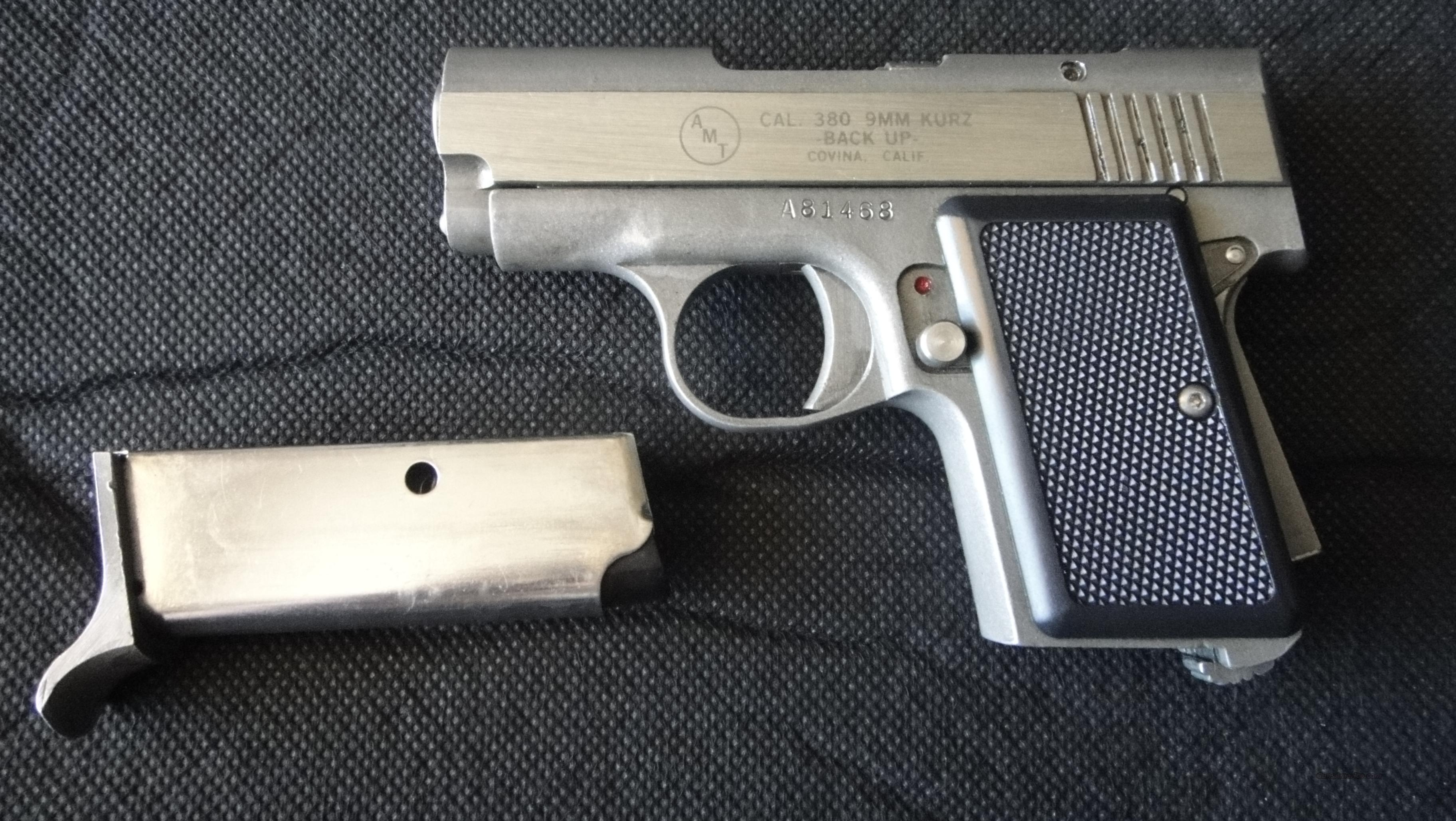 AMT Backup .380 ACP - Cheap!   Guns > Pistols > AMT Pistols > 1911 copies