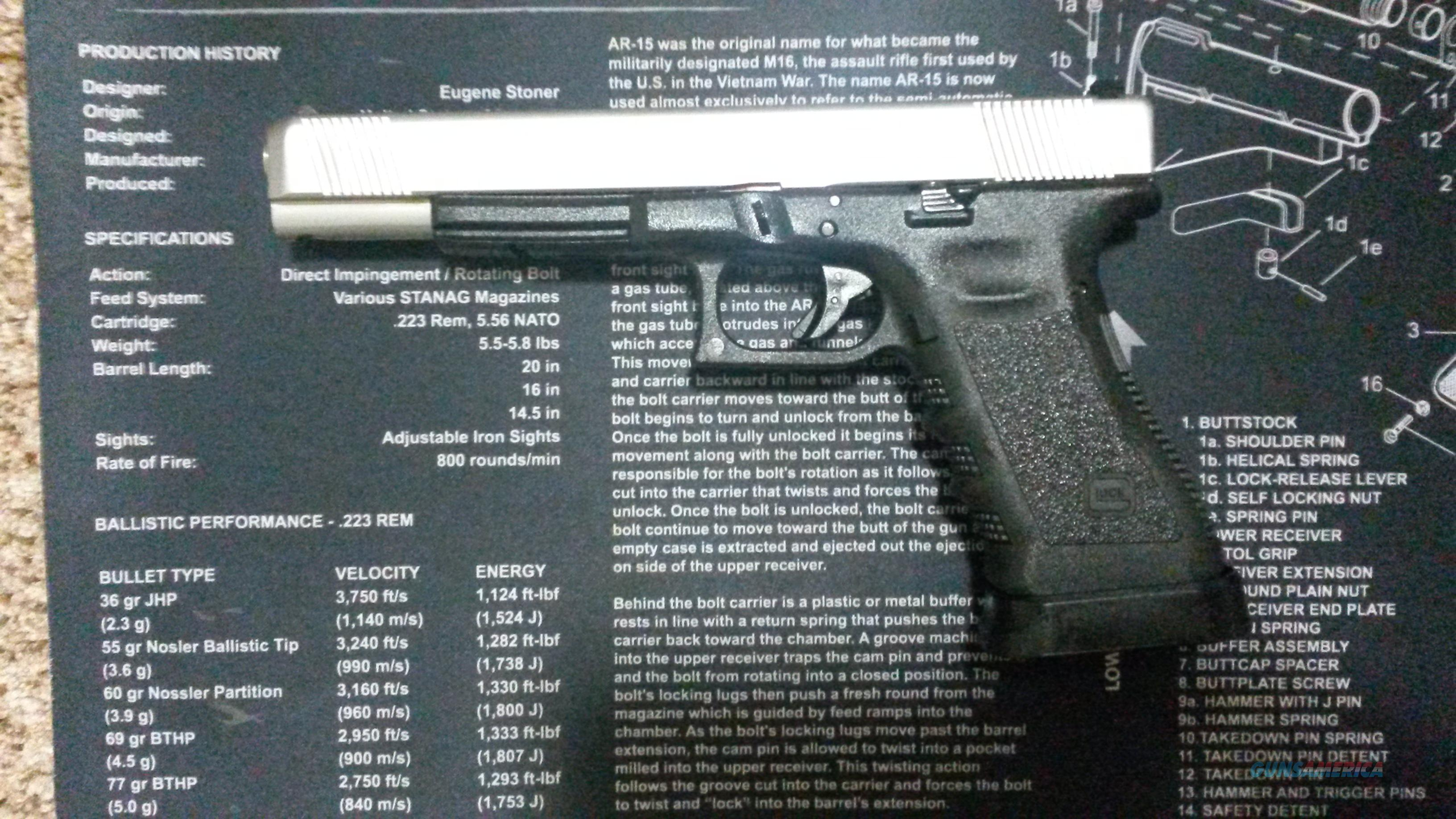 Custom Glock with tons of upgrades Lone Wolf, Trijicon, magwell (Glock 31)!- Cheap!  Guns > Pistols > Glock Pistols > 31/32/33