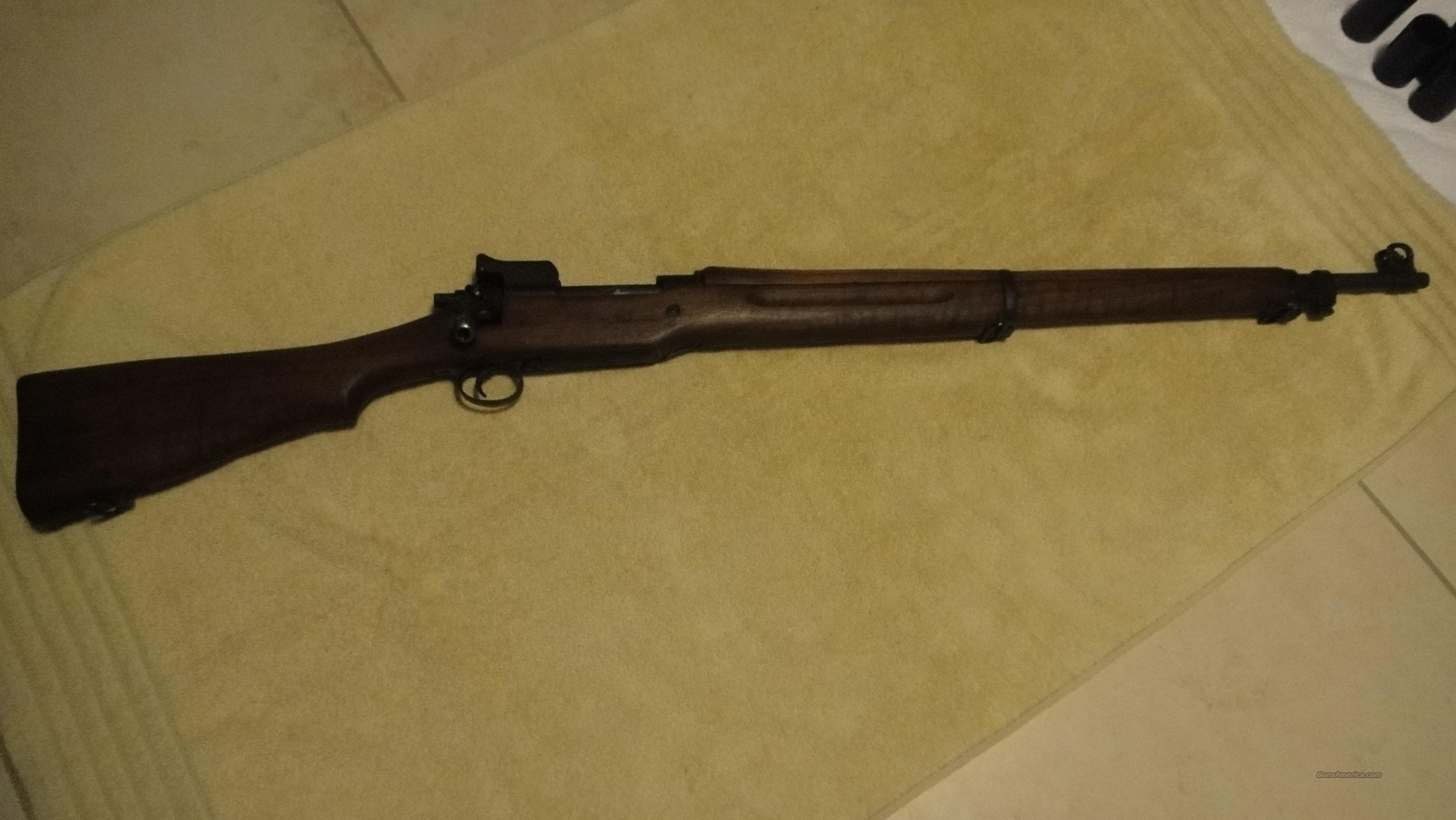 M1917 Enfield Eddystone (Not sporterized)!!!  Guns > Rifles > Military Misc. Rifles US > Model 1917 Variants