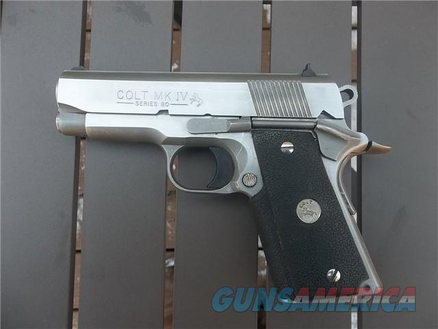 Colt Officers Model Stainless Enhanced- Cheap!  Guns > Pistols > Colt Automatic Pistols (1911 & Var)