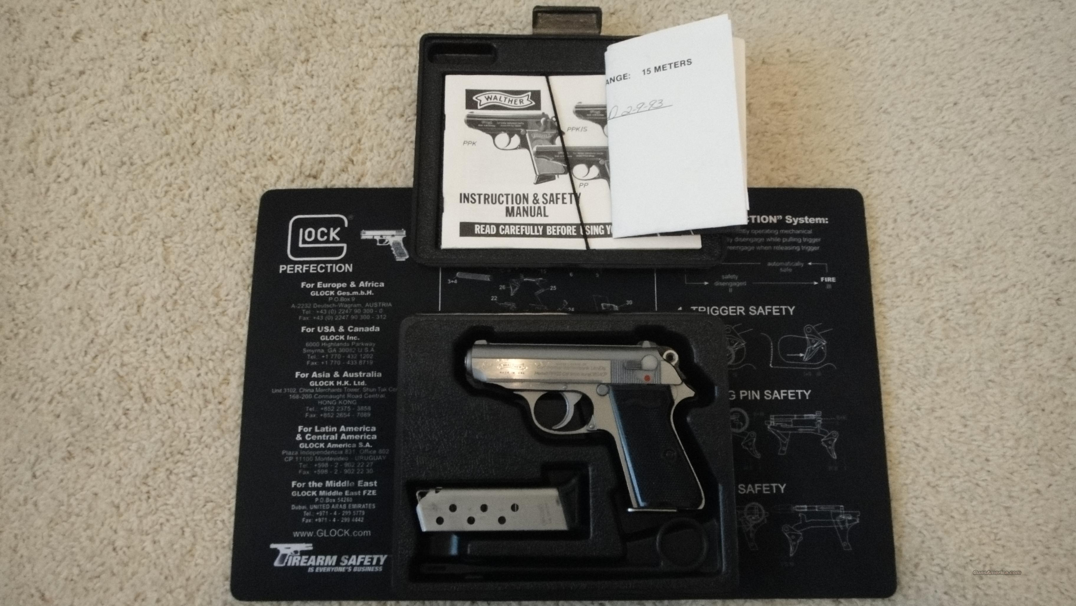 Interarms PPKS-Factory Box and Paperwork!  Guns > Pistols > Interarms Pistols