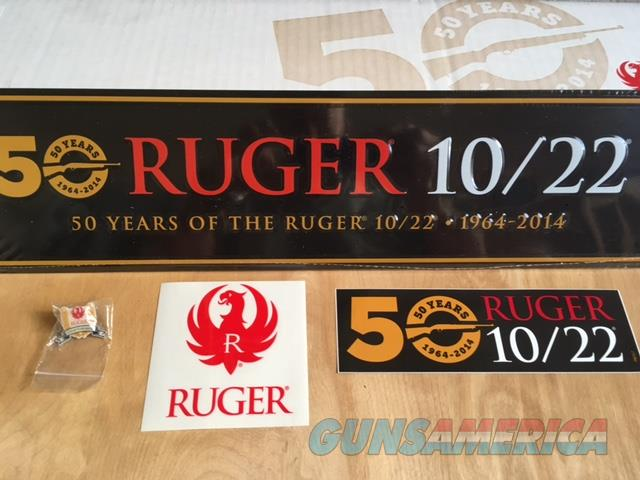 Ruger 50 Years Anniversary 10/22 barrel with fiber optic sights, stock, and many more..   Non-Guns > Barrels