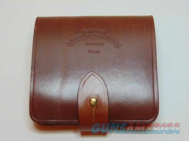 Galco Safari Five Leather ammo pouch  Non-Guns > Holsters and Gunleather > Magazine Holders