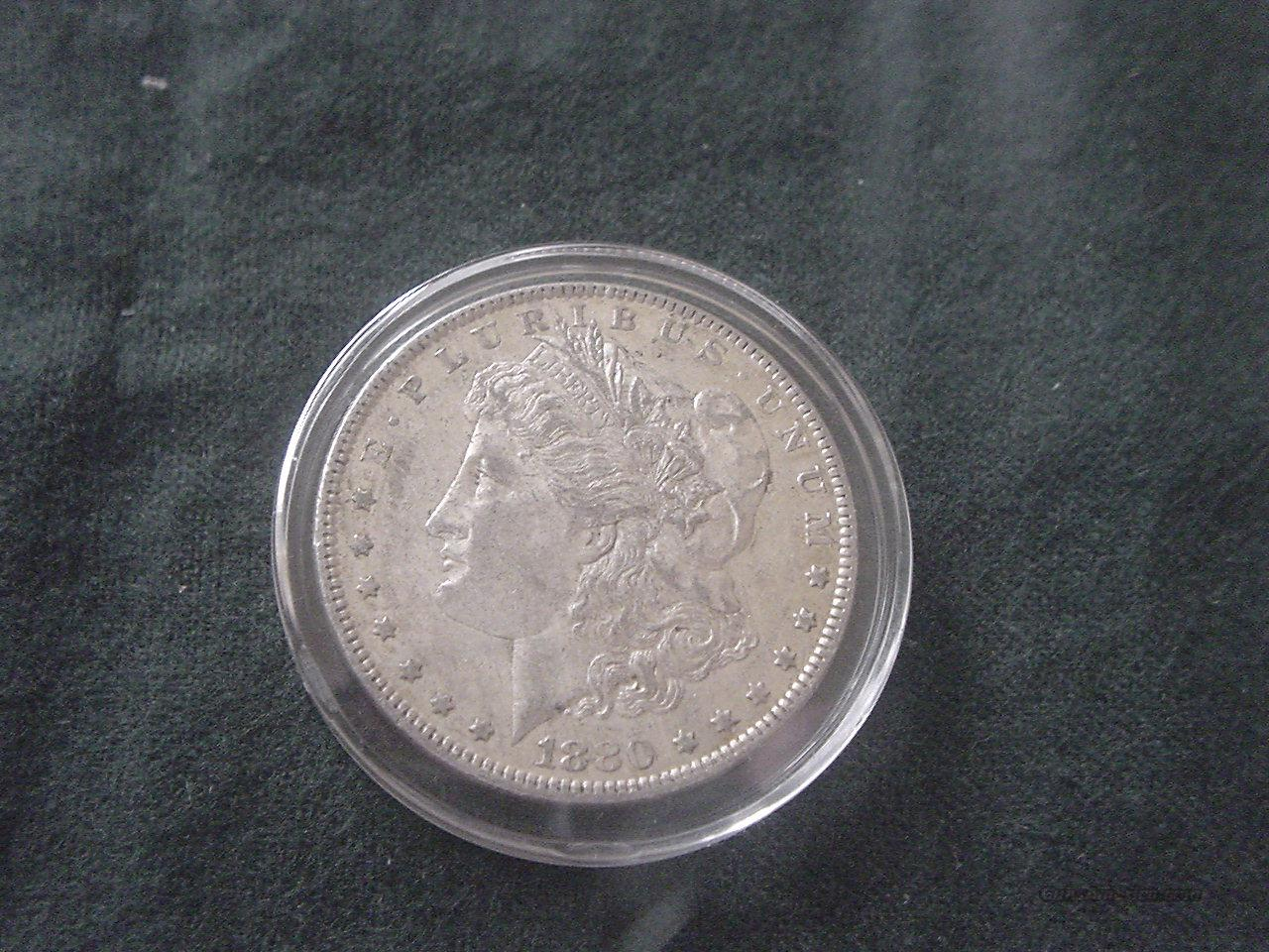 1880 O Morgan  Non-Guns > Coins