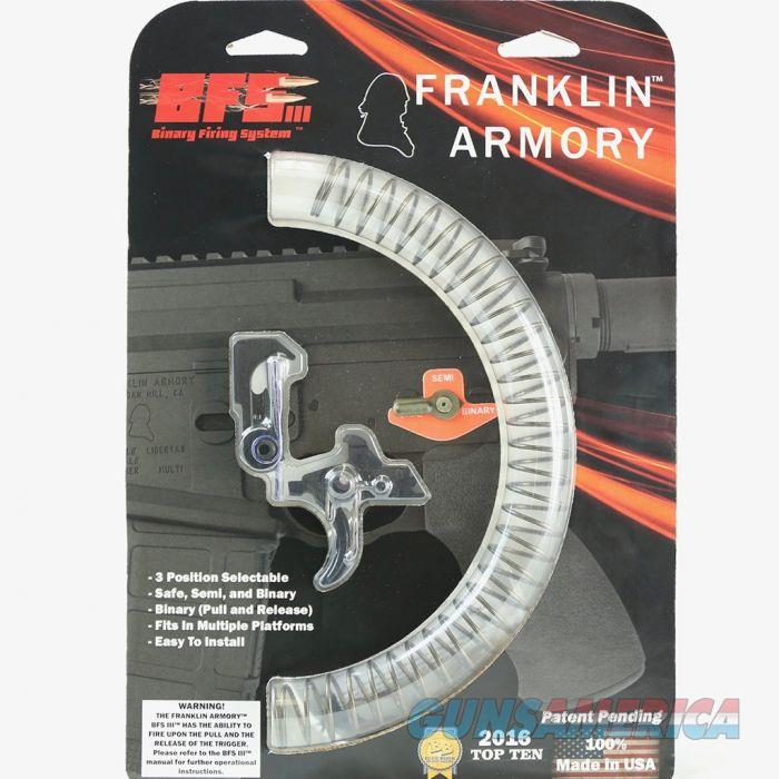 Franklin Armory BFSIII AR-C1 Binary Firing System III Trigger - For AR Platforms | Curved Trigger  Non-Guns > Gun Parts > Misc > Rifles