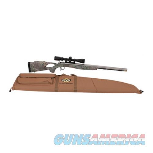 CVA Optima V2 Thumbhole, Stainless Steel/Realtree Green .50 Caliber w/Konus Pro Scope  Guns > Rifles > Connecticut  Valley Arms (CVA) Rifles > Modern Muzzleloaders