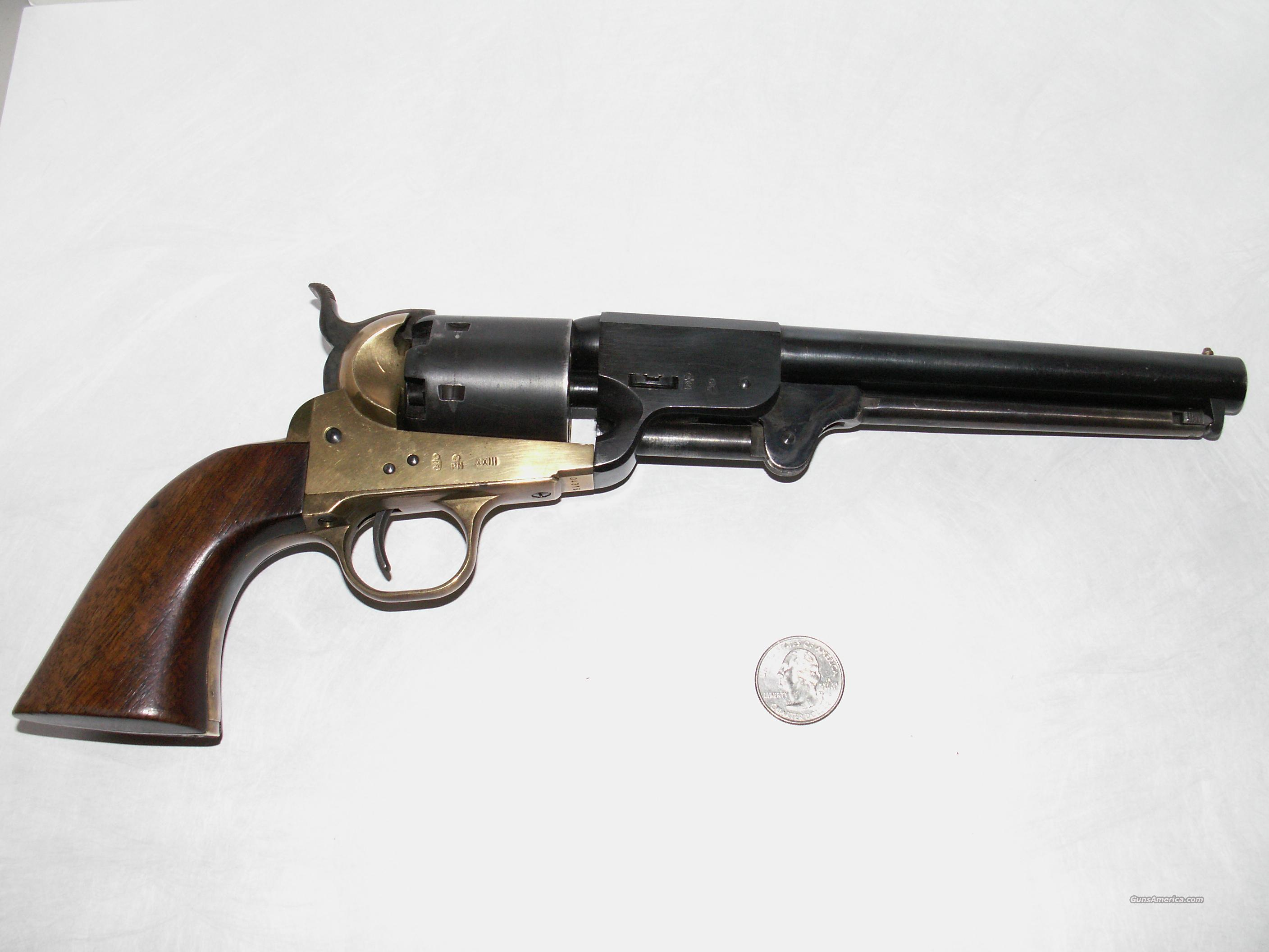 Italian 36 caliber Griswold and Gunnison Replica  Guns > Pistols > Colt Replica (Italian, etc.) Pistols