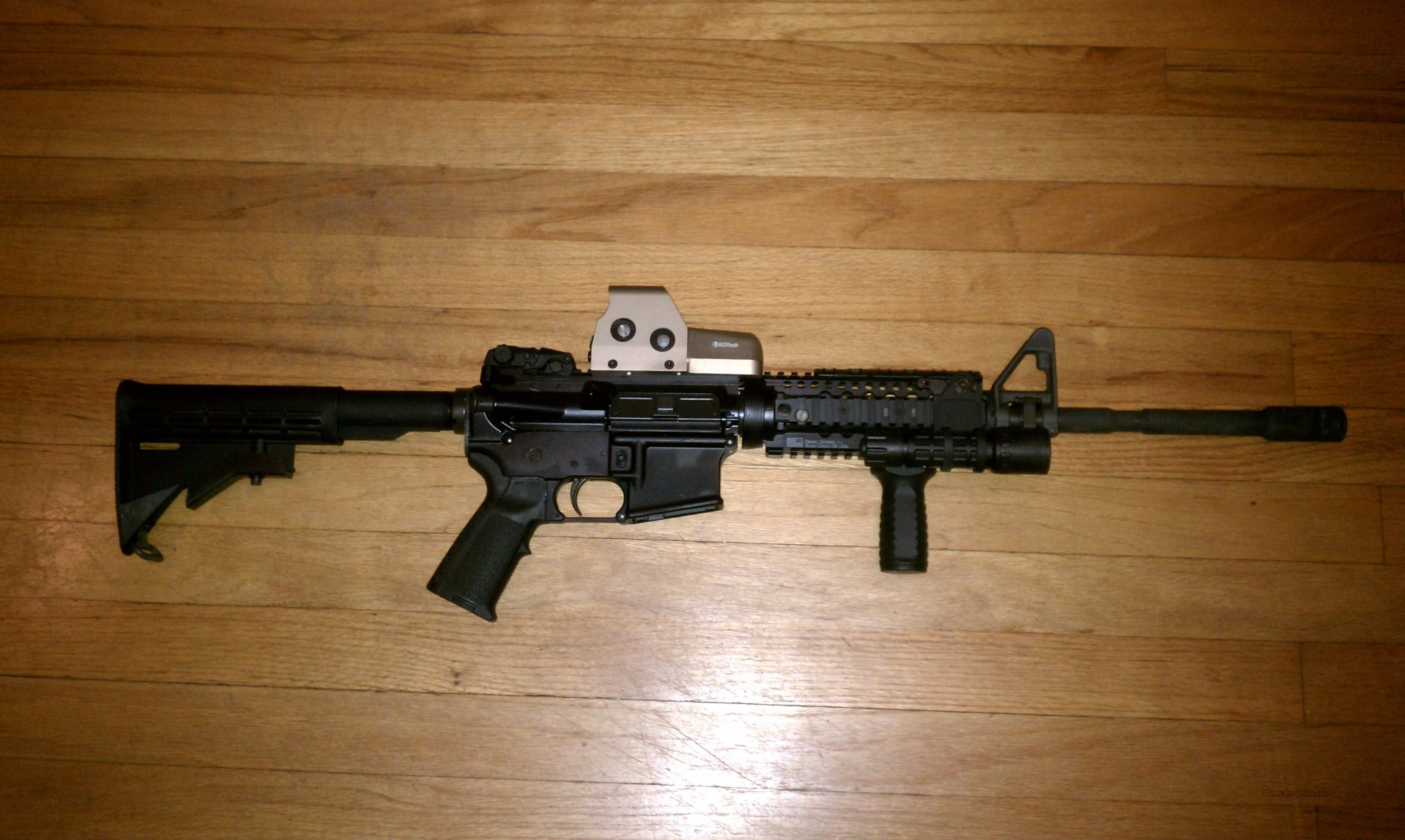 Colt AR15 w/ EOTech 553 and upgrades!  Guns > Rifles > Colt Military/Tactical Rifles