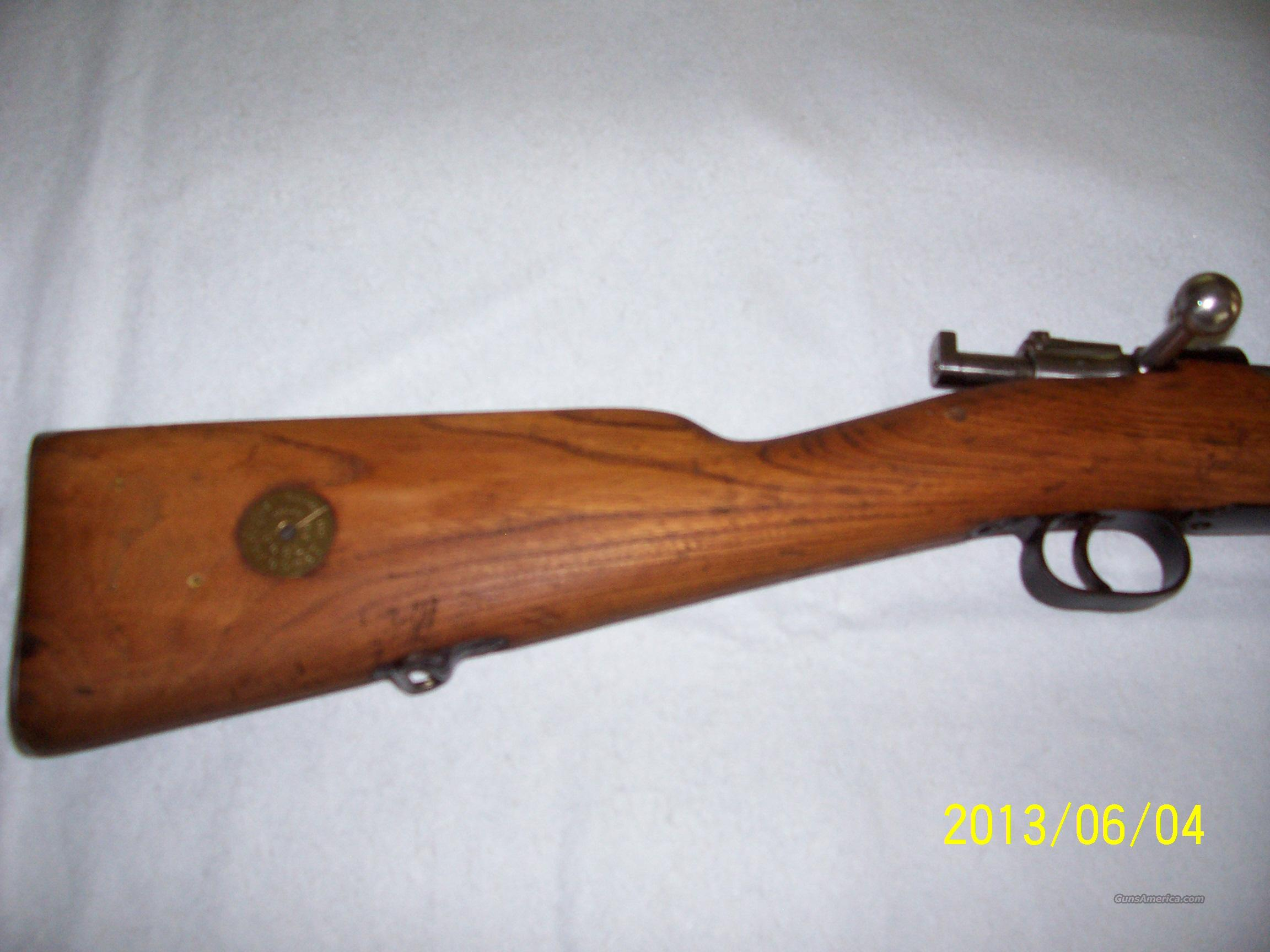 1916 CARL GUSTAFS STADS RIFLE  Guns > Rifles > Military Misc. Rifles Non-US > Other