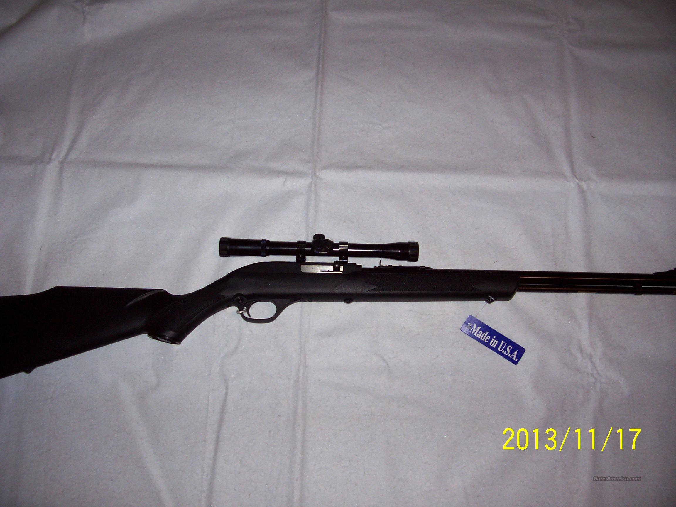 Marlin Semi-Auto 22 LR with Scope  Guns > Rifles > Marlin Rifles > Modern > Semi-auto