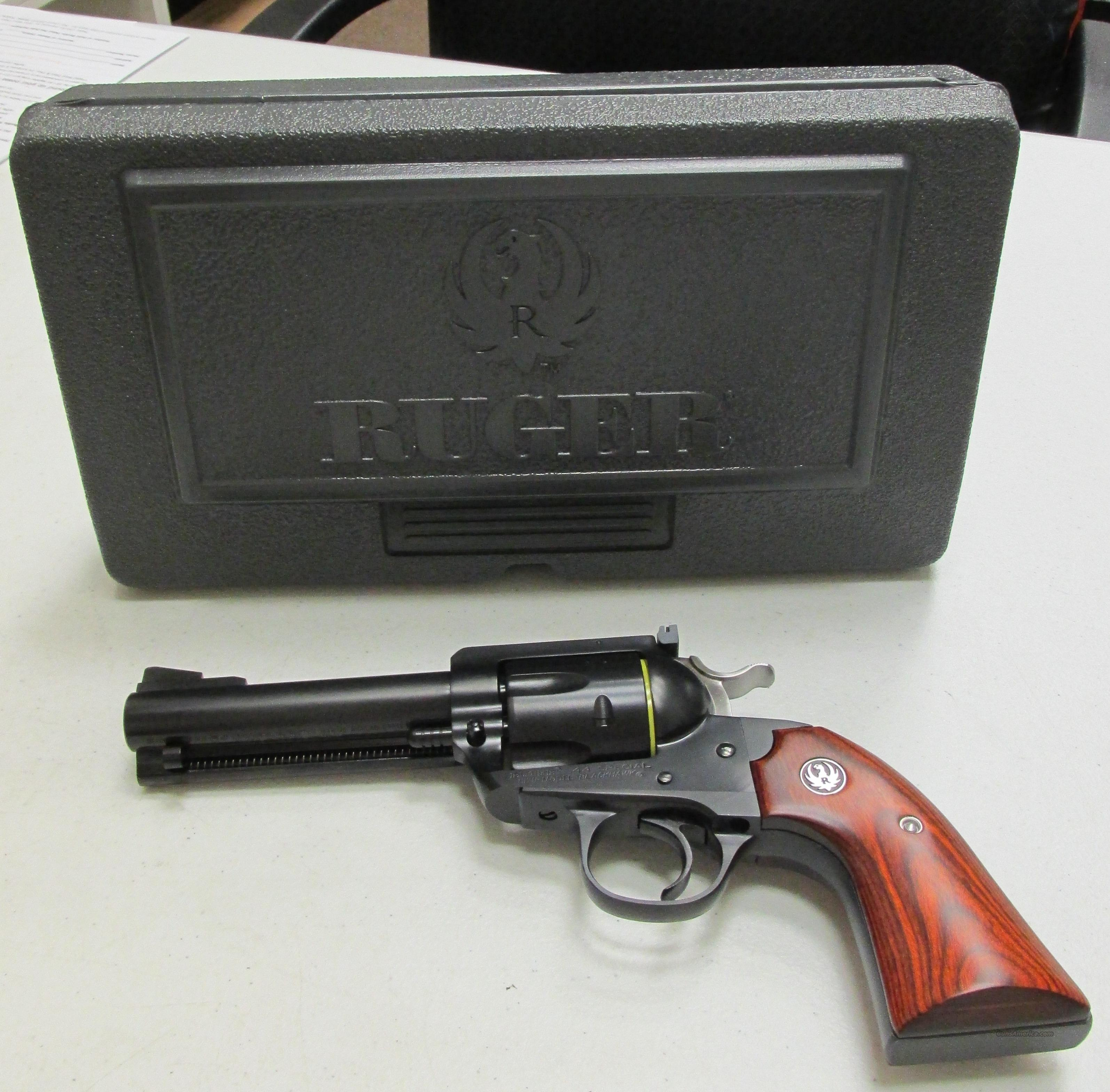 "Ruger Bisley Flattop 44SPC Exclusive #5236 4 5/8""  Guns > Pistols > Ruger Single Action Revolvers > Cowboy Action"