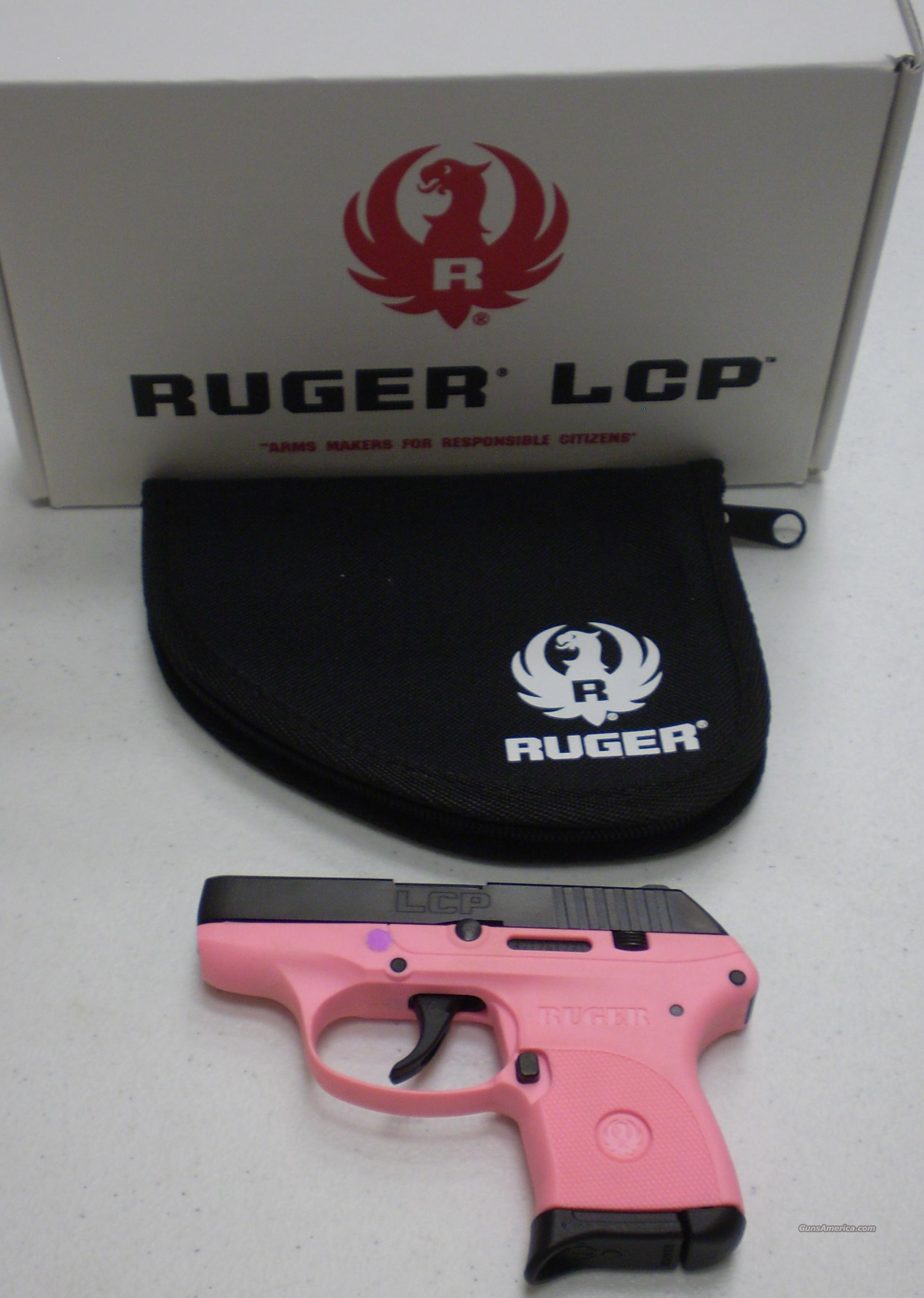 Ruger Dealer Exclusive Pink LCP 380 Nice Conceal & Carry Size  Guns > Pistols > Ruger Semi-Auto Pistols > LCP