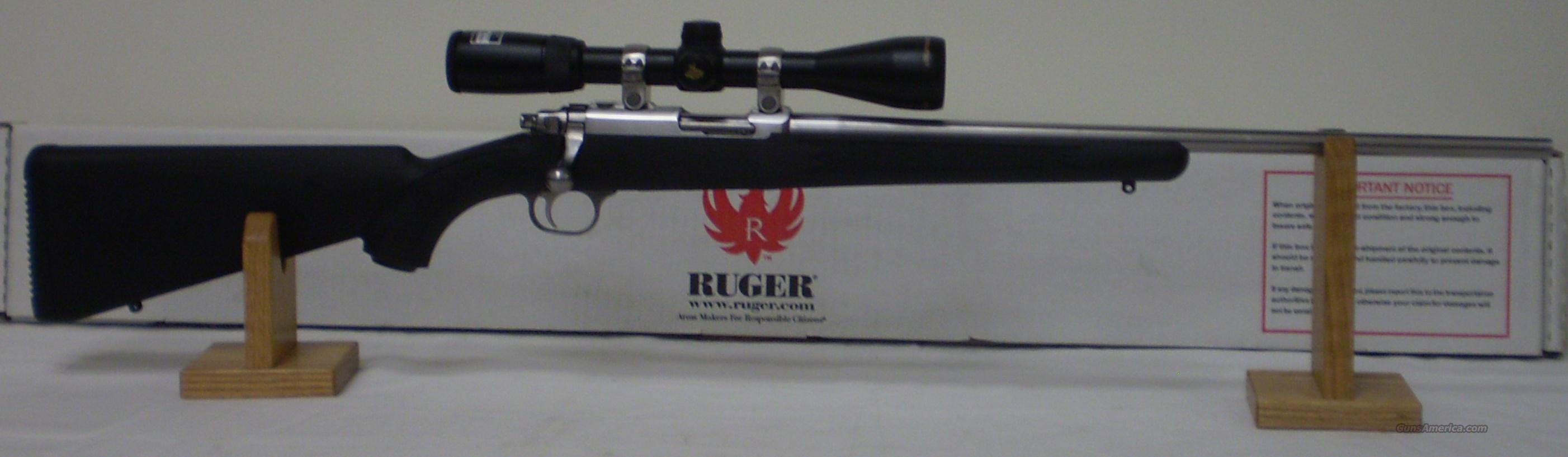 Ruger 77/17 17HMR SS With Scope  Guns > Rifles > Ruger Rifles > Model 77