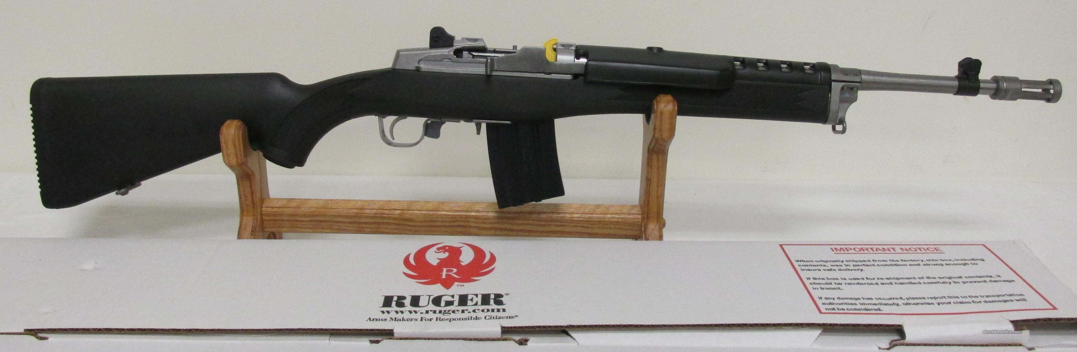 Ruger Mini 14 5819 SS with Flash Suppressor NIB  Guns > Rifles > Ruger Rifles > Mini-14 Type