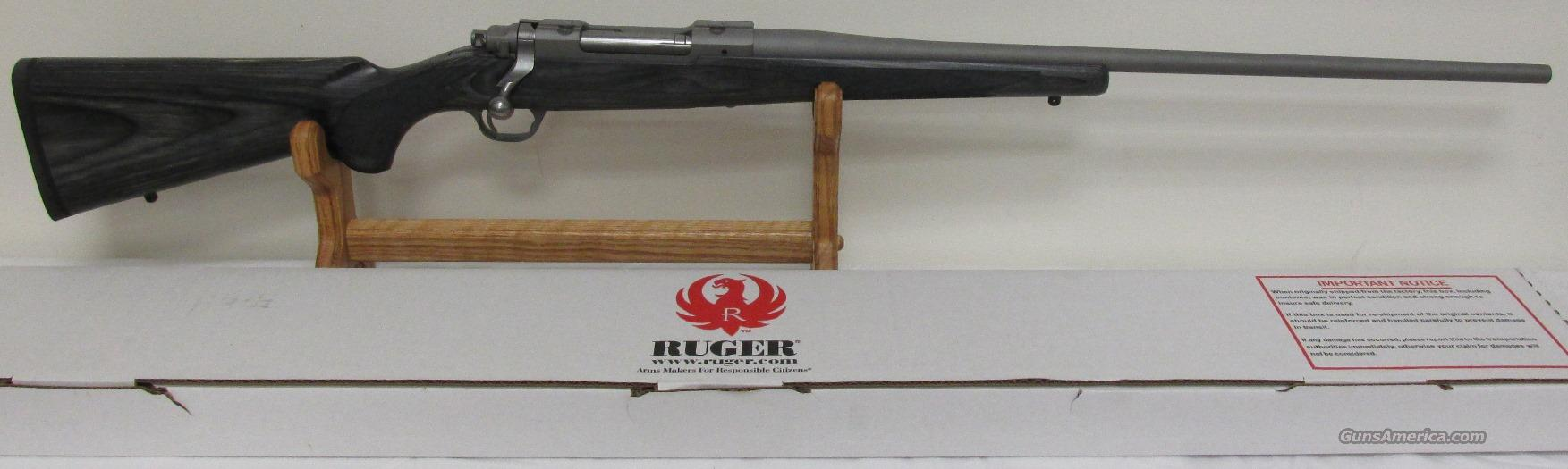 Ruger M77 Hawkeye Sporter SS 7mm Rem Mag NIB #17190 (SS Matte Scope Rings Included)   Guns > Rifles > Ruger Rifles > Model 77
