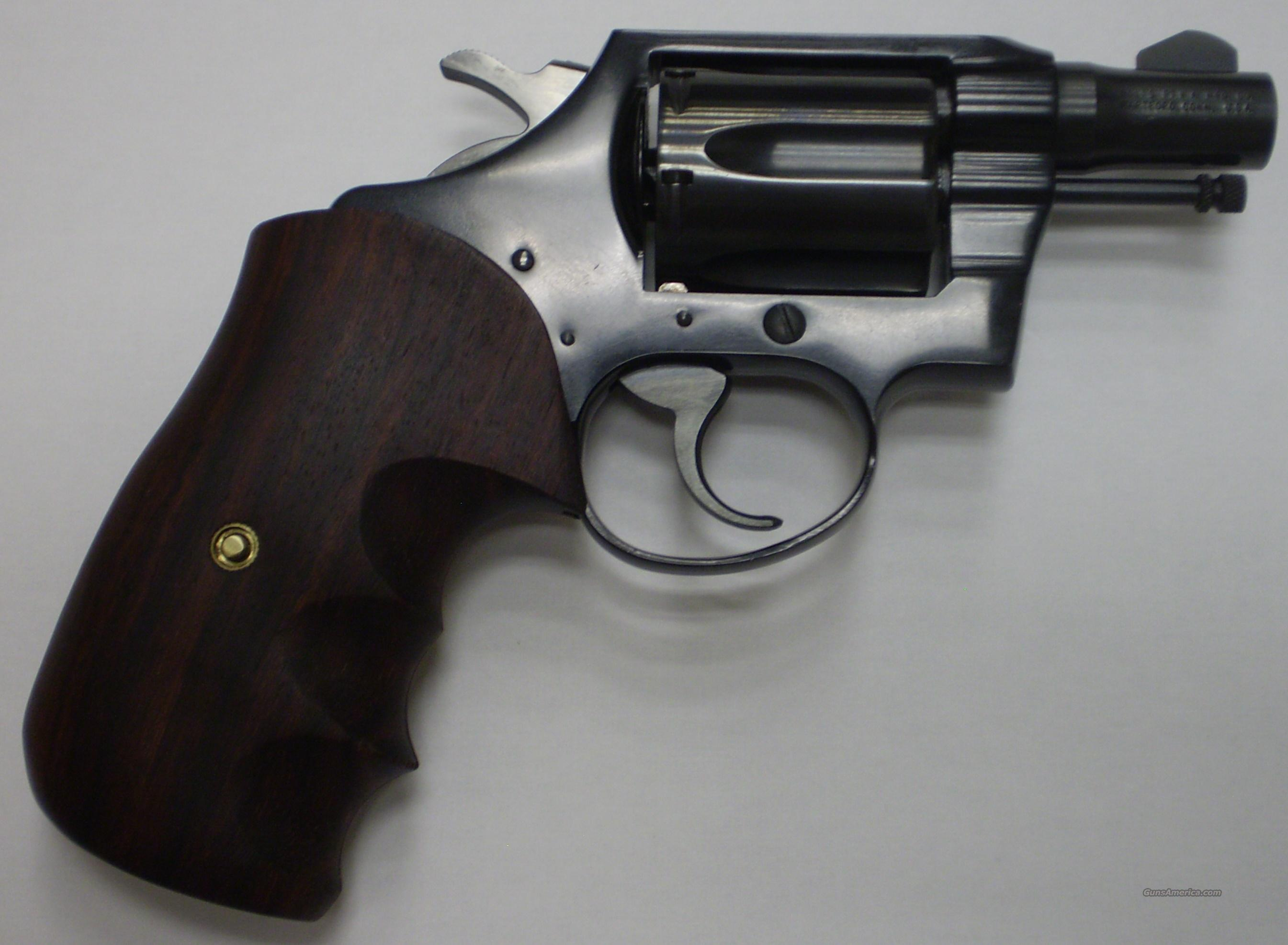 "Colt Cobra 1963 Made 2"" Snub 1st Issue 38Spl with Combat Grips  Guns > Pistols > Colt Double Action Revolvers- Modern"
