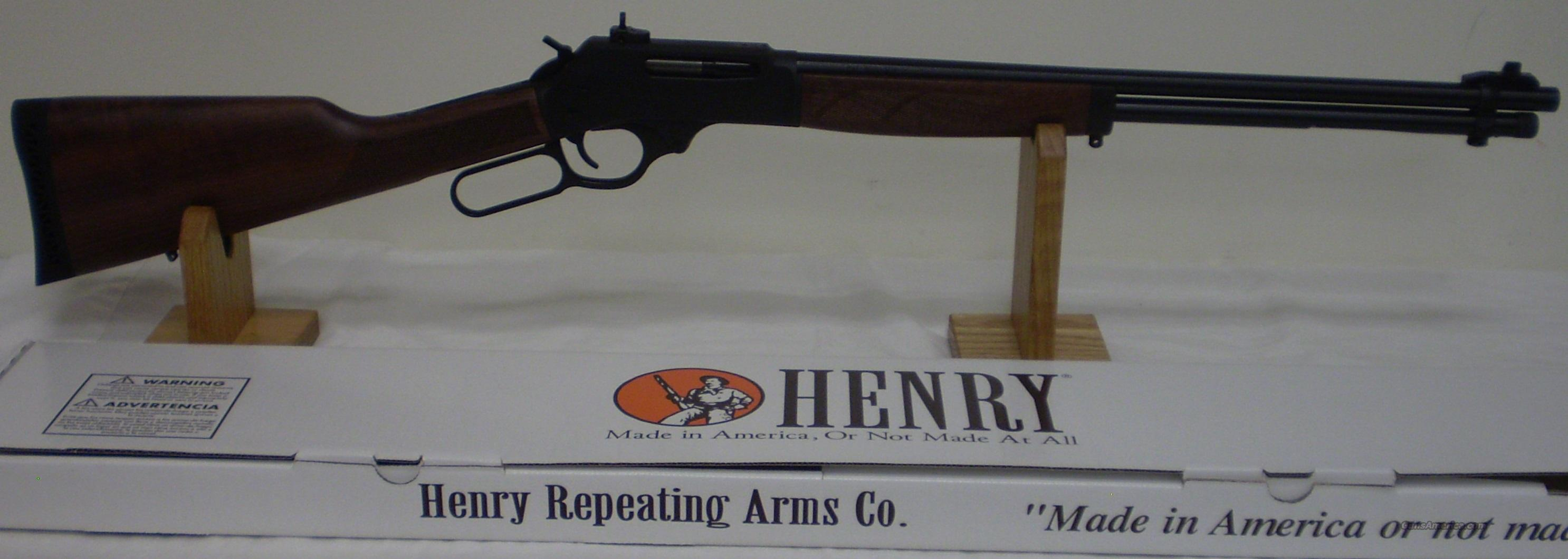 Henry H009 30-30 Steel Blued Beautiful Wood Stock NIB  Ghost Ring Sight  Guns > Rifles > Henry Rifle Company