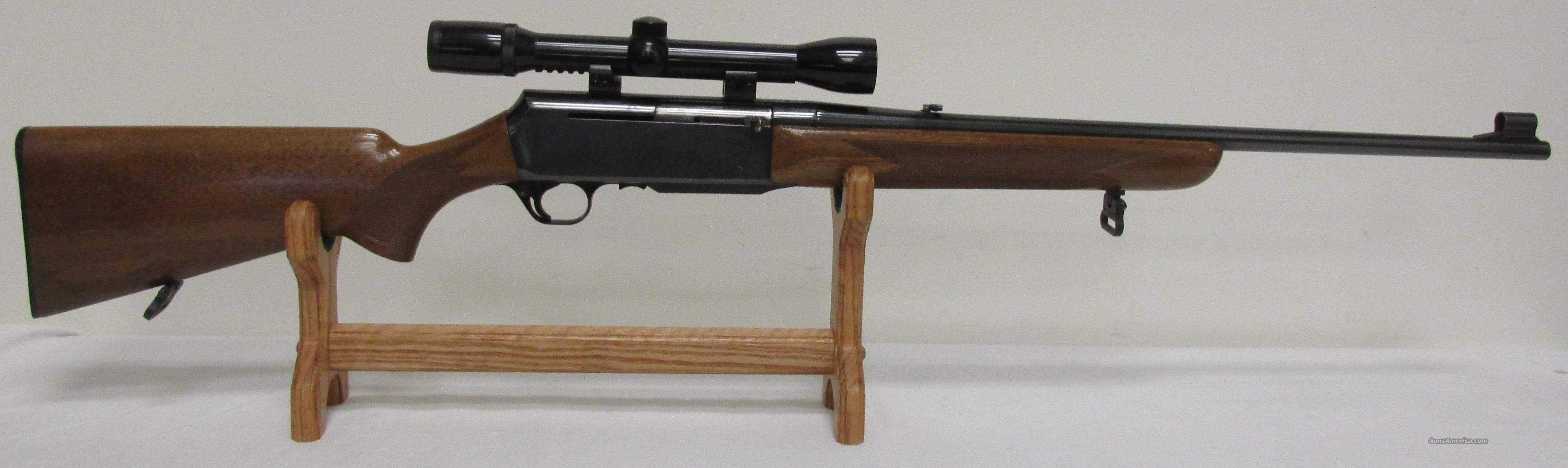 Browning Belgium Rifle W/Scope .270 Win Patent Pending  Guns > Rifles > Browning Rifles > Semi Auto > Hunting