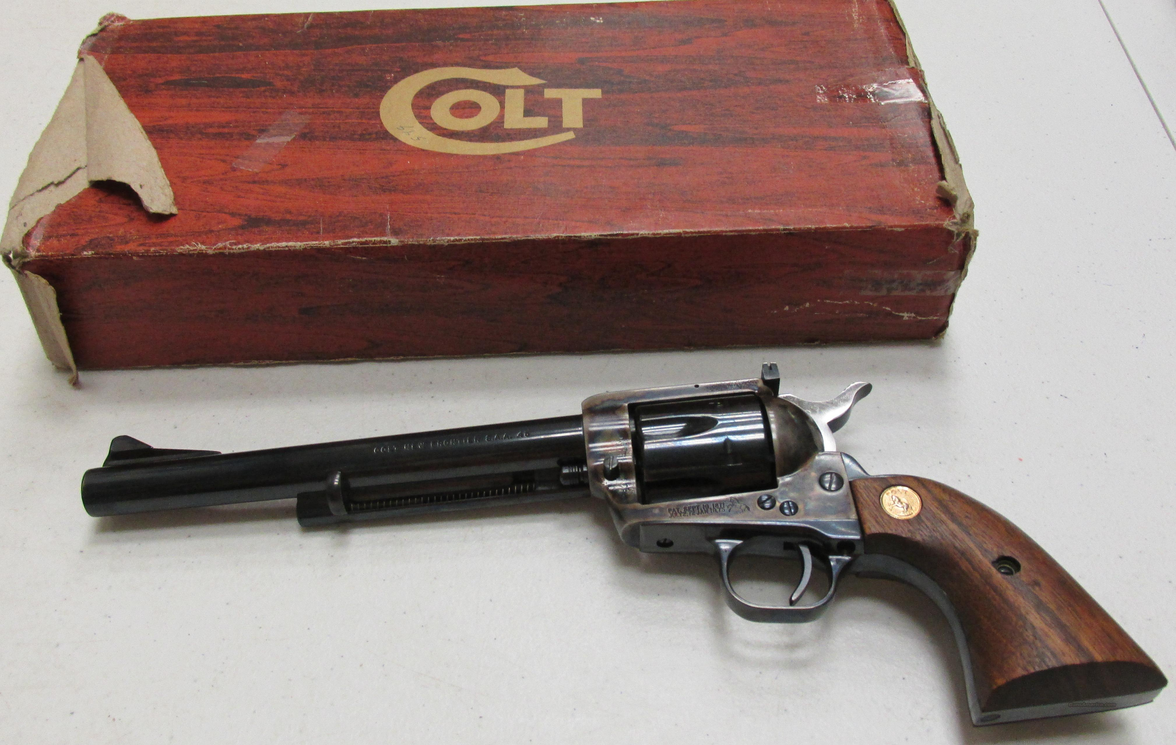 Colt New Frontier 45LC Vintage 1975 As New  Guns > Pistols > Colt Double Action Revolvers- Modern