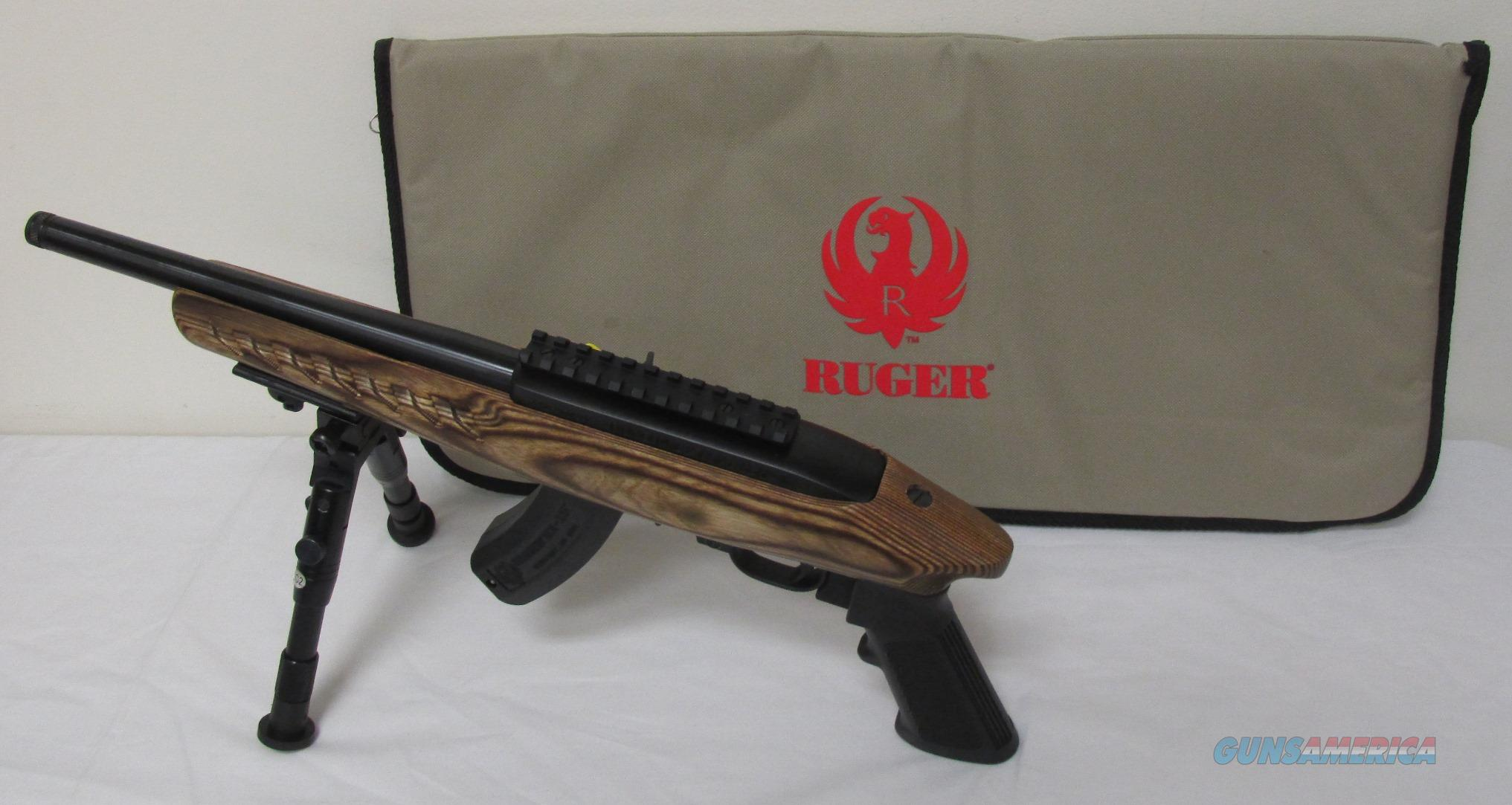 Ruger Charger 22LR  W/Bipod #4917  Guns > Pistols > Ruger Semi-Auto Pistols > Charger Series