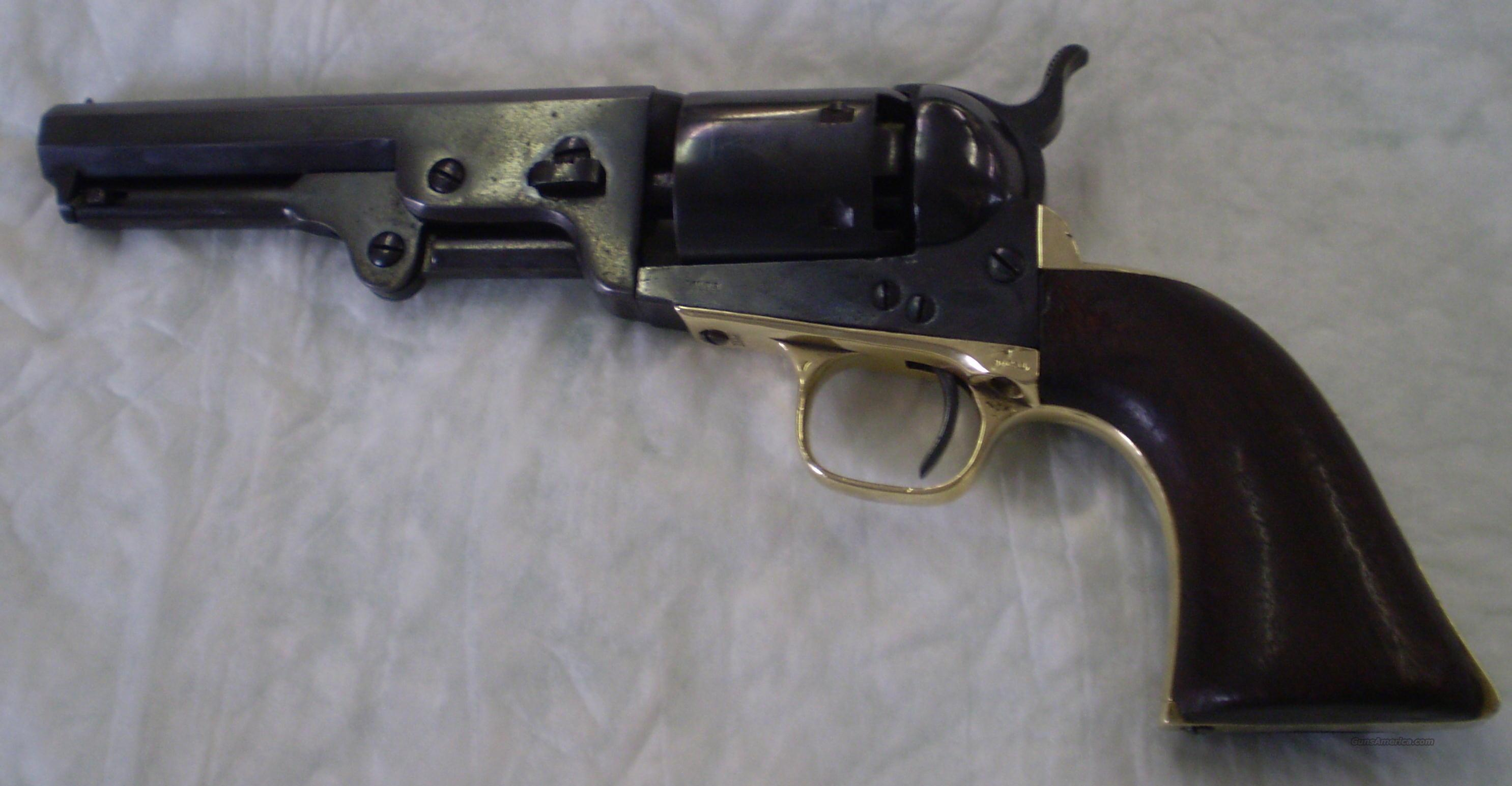"Colt 1851 Navy .36 Cal ""Golden City""  Guns > Pistols > Antique (Pre-1899) Pistols - Perc. Misc."