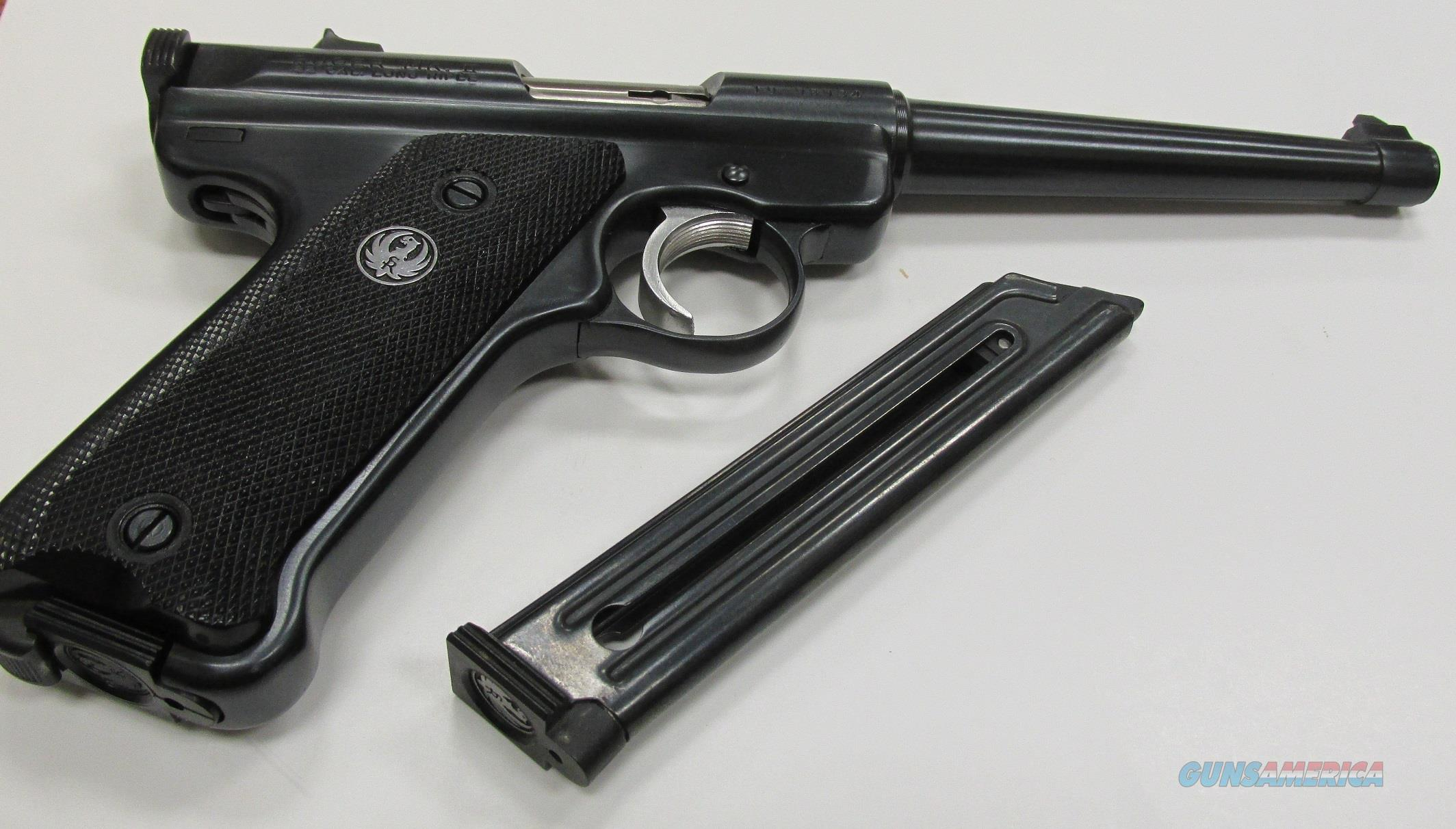Ruger Mark II 22LR MFG 1984 Like New (2) Mags  Guns > Pistols > Ruger Semi-Auto Pistols > Mark I/II/III Family