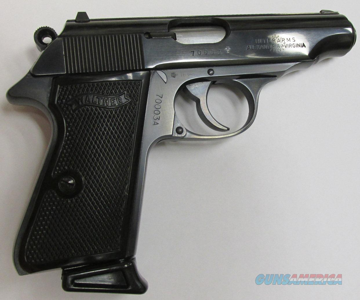 Walther Model PP Vintage 380 ACP Interarms W.Germany NOS 9mm kurz  Guns > Pistols > Walther Pistols > Post WWII > PPK Series