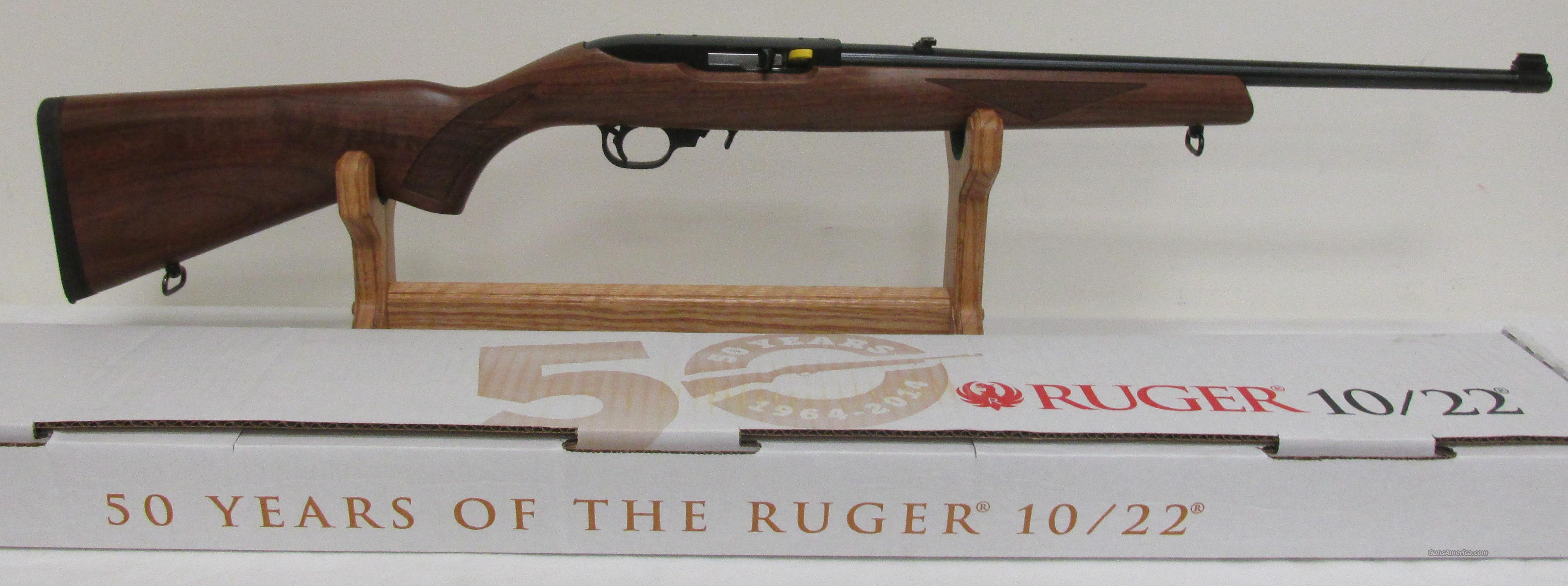 Ruger Sporter 10/22 American Walnut 22LR $340 Beautiful Wood (50th Anniversary)  Guns > Rifles > Ruger Rifles > 10-22