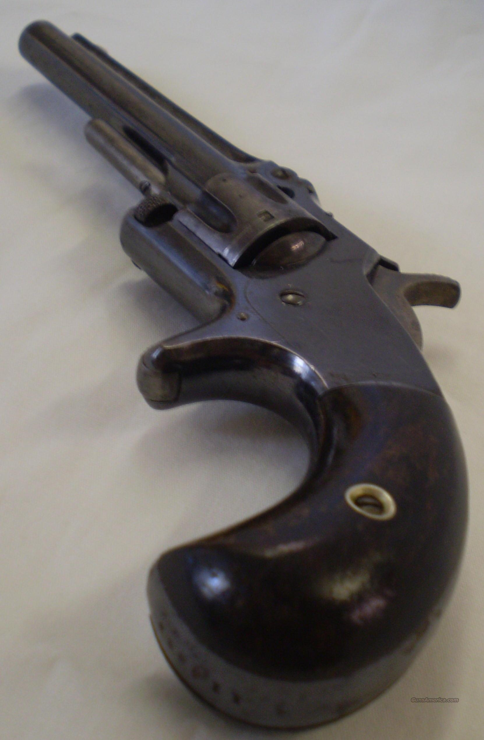 Smith & Wesson 7 Shot 22cal Model 1 Series 3  Guns > Pistols > Antique (Pre-1899) Pistols - Ctg. Misc.